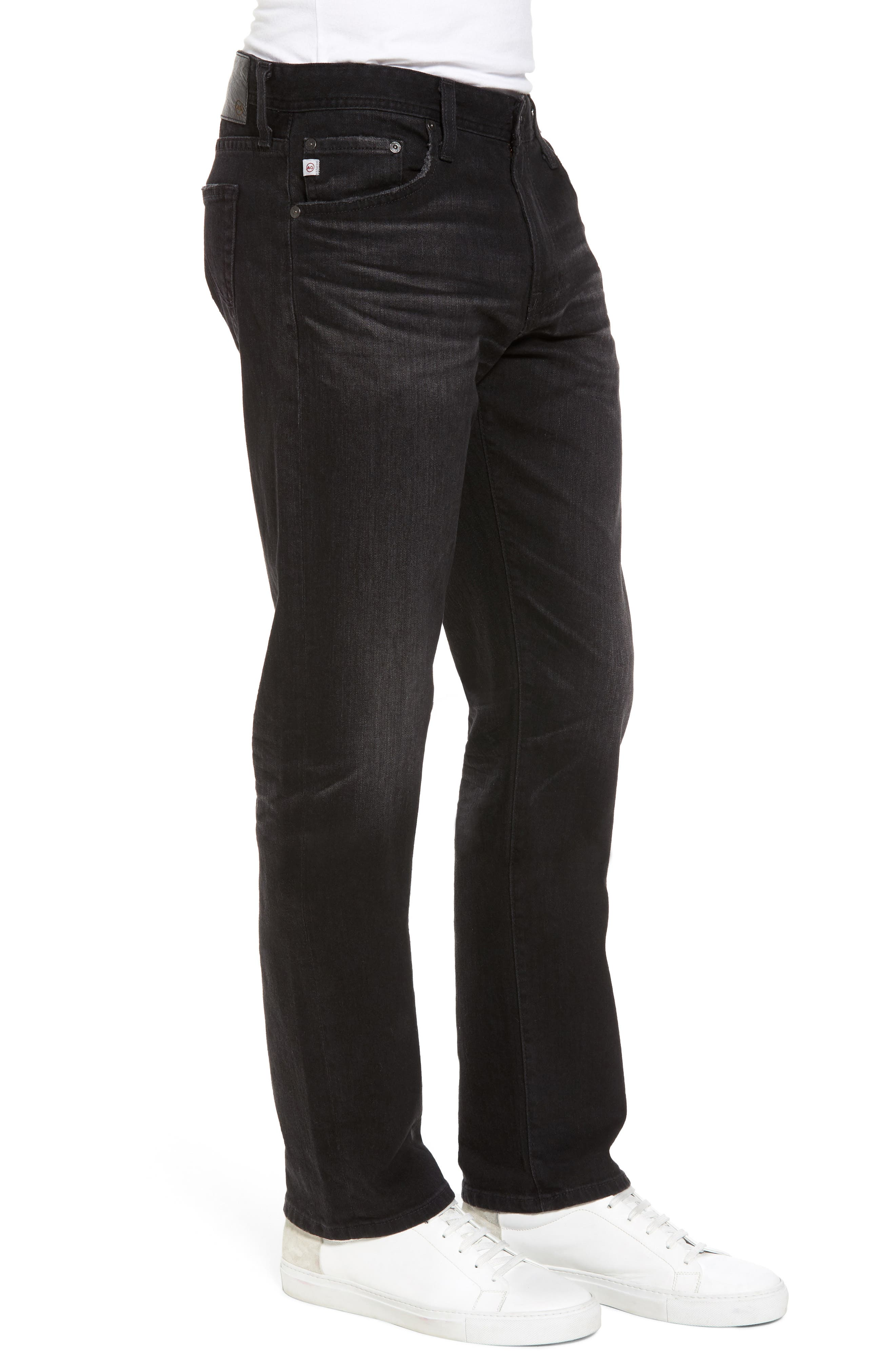 Graduate Slim Straight Fit Jeans,                             Alternate thumbnail 3, color,                             4 Years Down