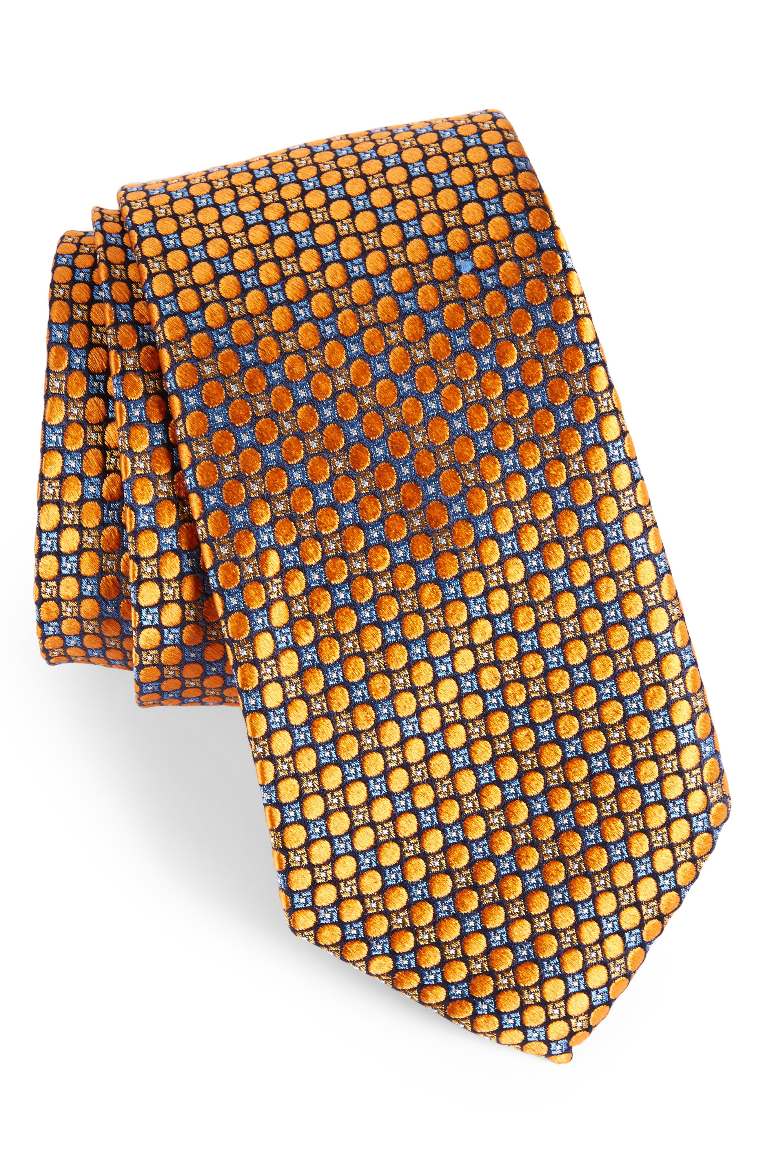 Alternate Image 1 Selected - Nordstrom Men's Shop Carter Dot Silk Tie