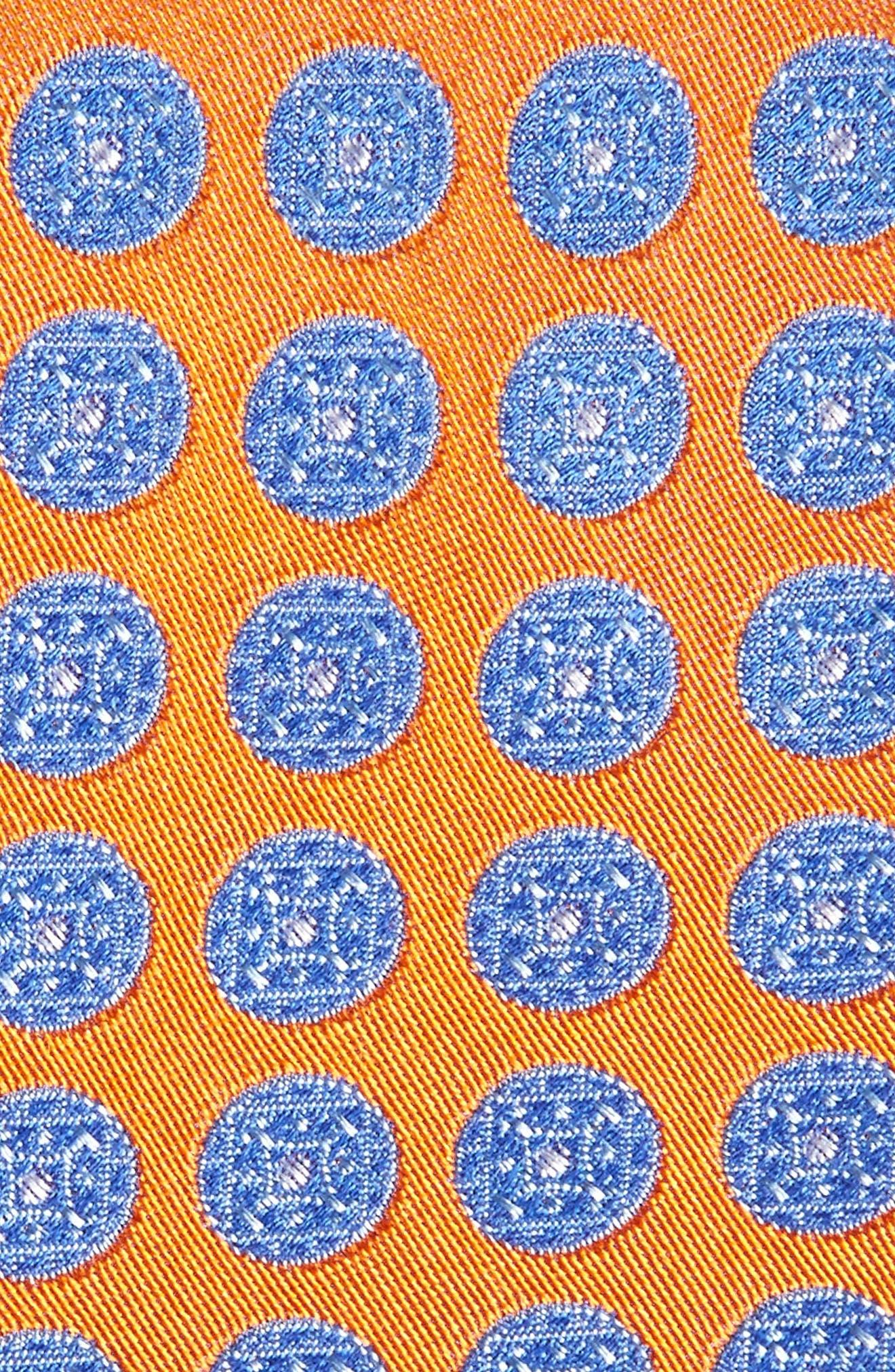 Alternate Image 2  - Nordstrom Men's Shop Carlos Medallion Silk Tie (X-Long)