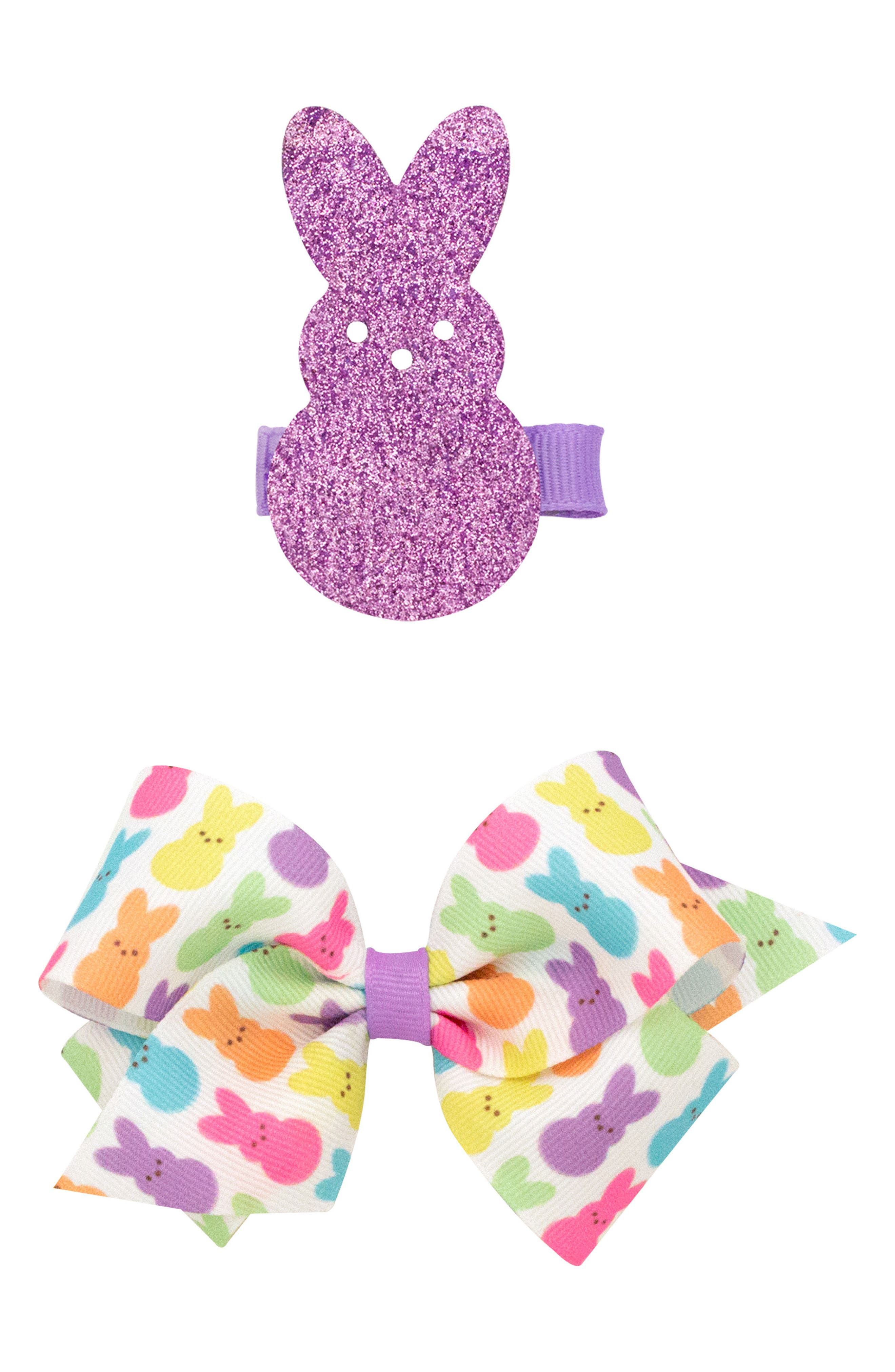 2-Pack Clips,                         Main,                         color, Lavender