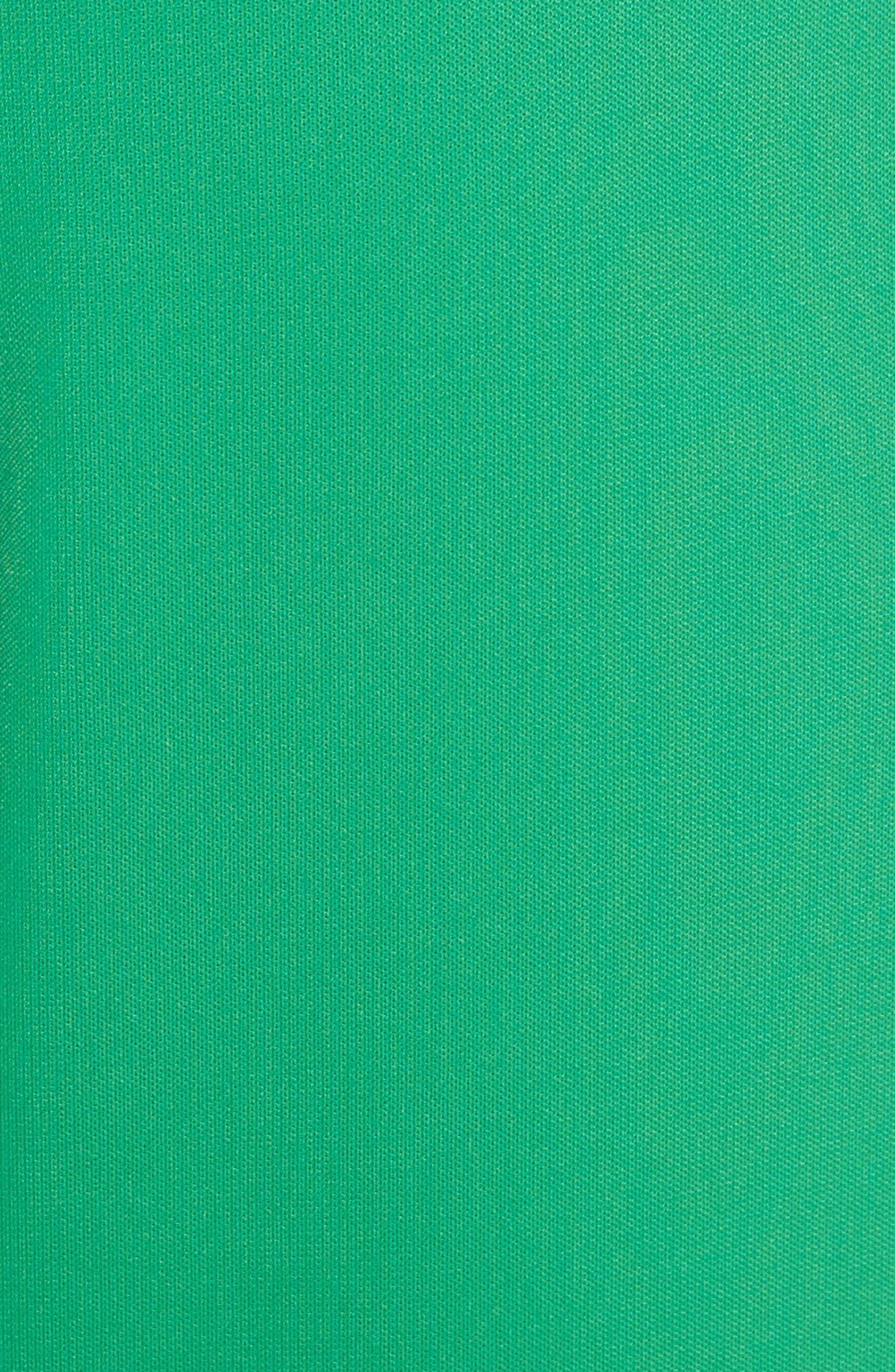 High Waist Crop Pants,                             Alternate thumbnail 6, color,                             Green