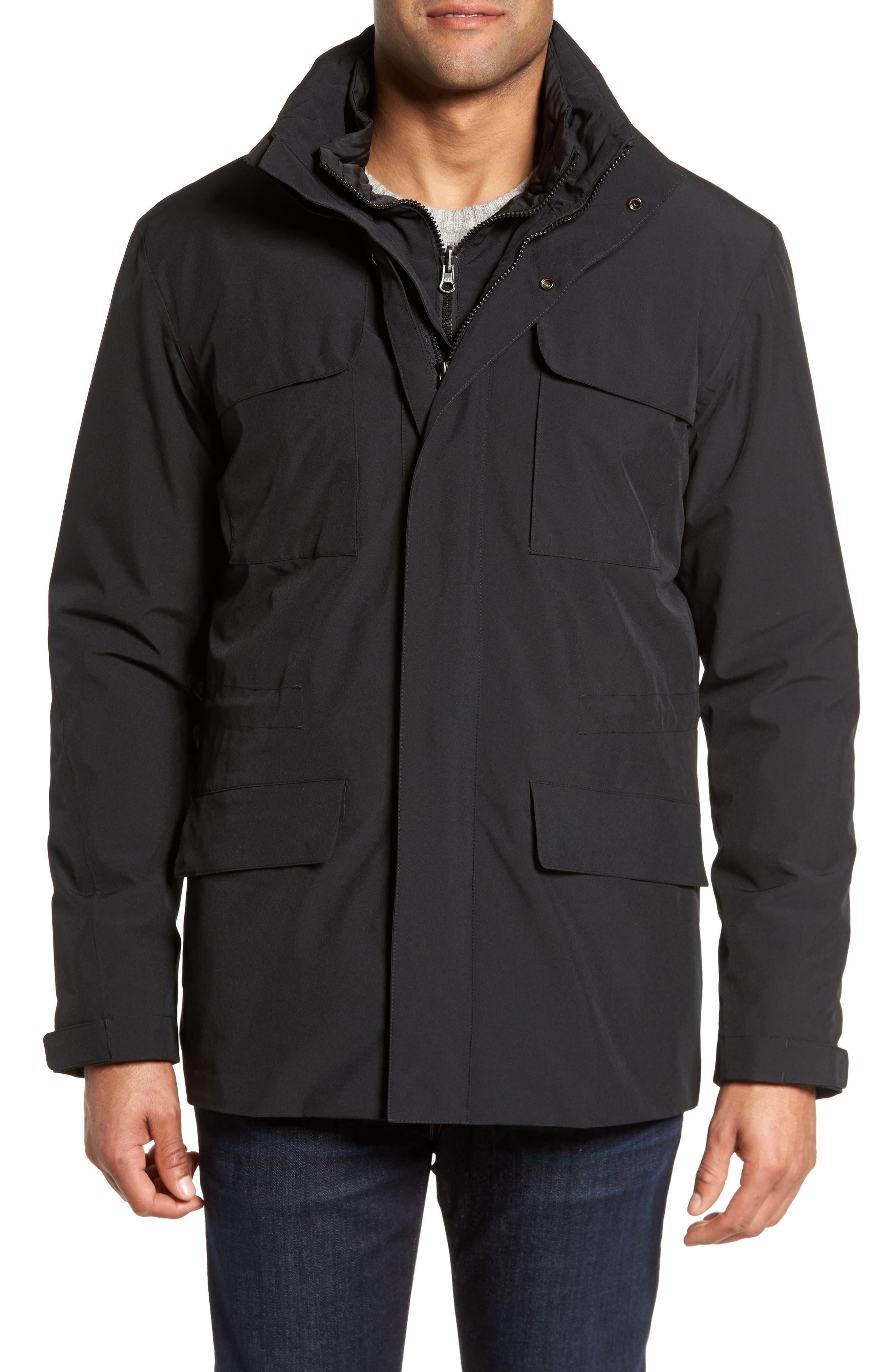 Bugatchi Water-Resistant Soft Shell Jacket