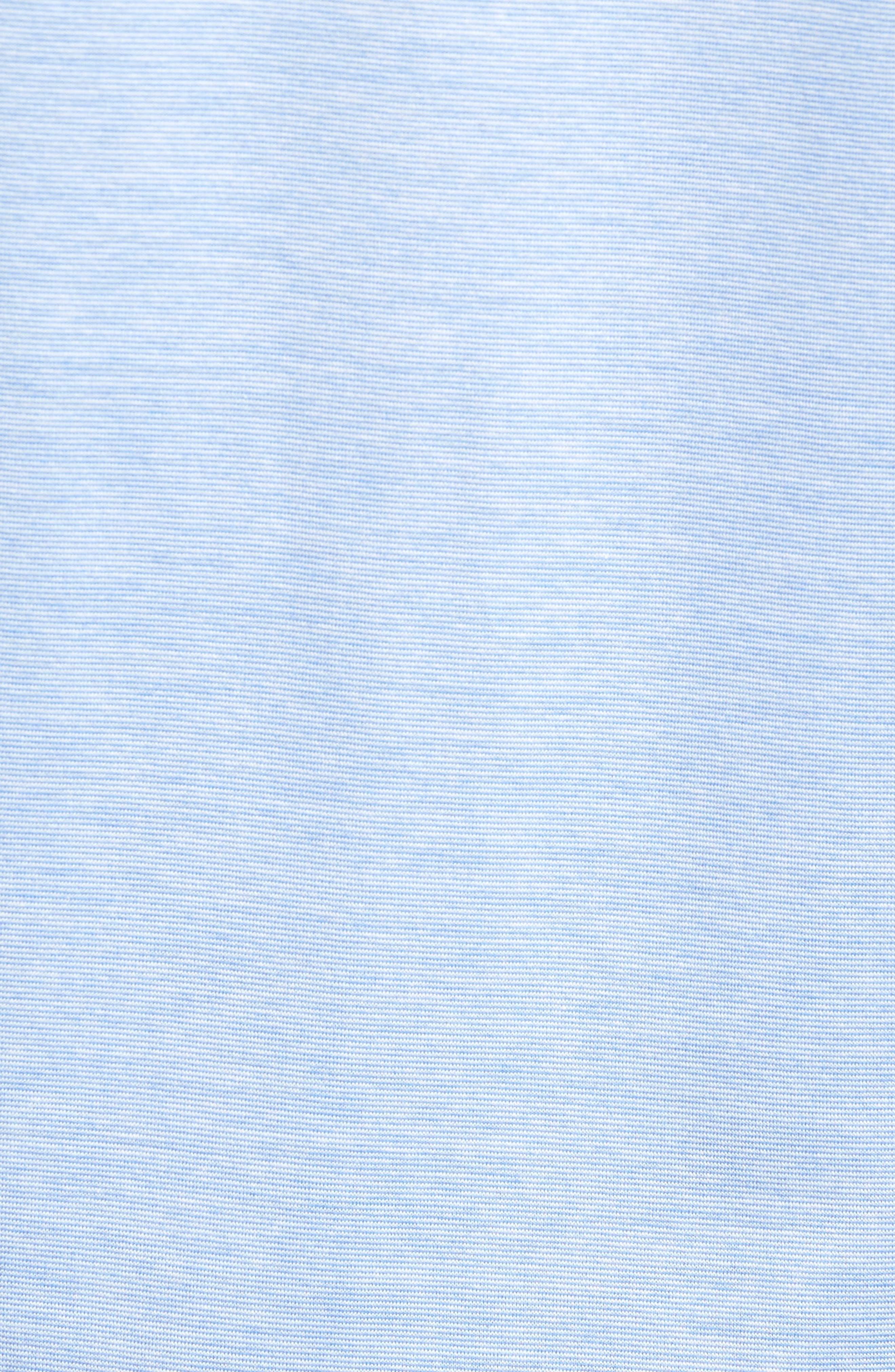 Alternate Image 5  - Peter Millar Briarwood Stripe Cotton Polo