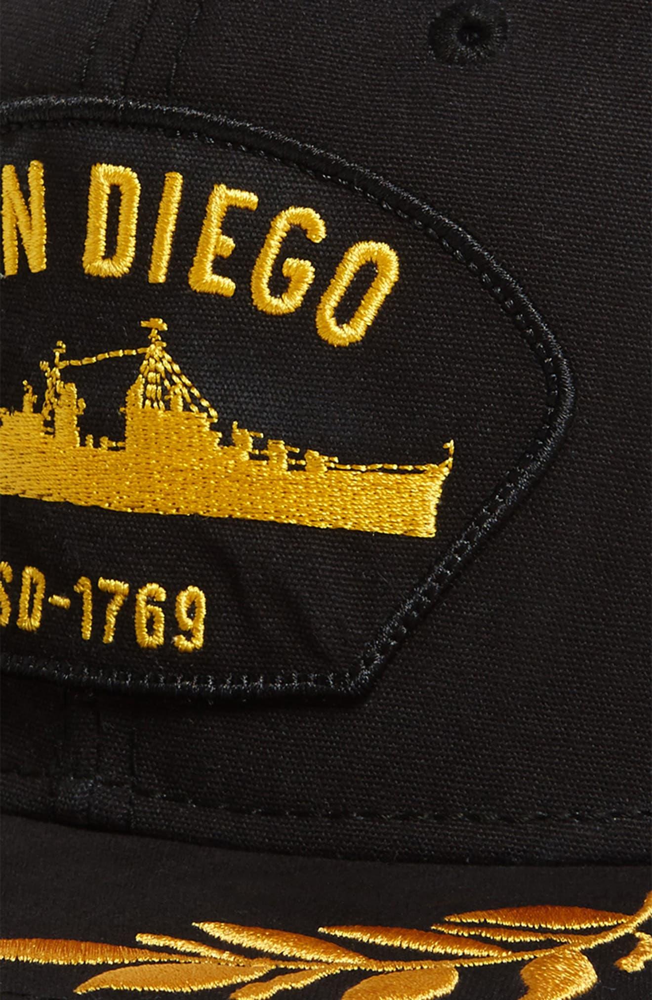 Alternate Image 3  - Goorin Brothers San Diego Snapback Baseball Cap