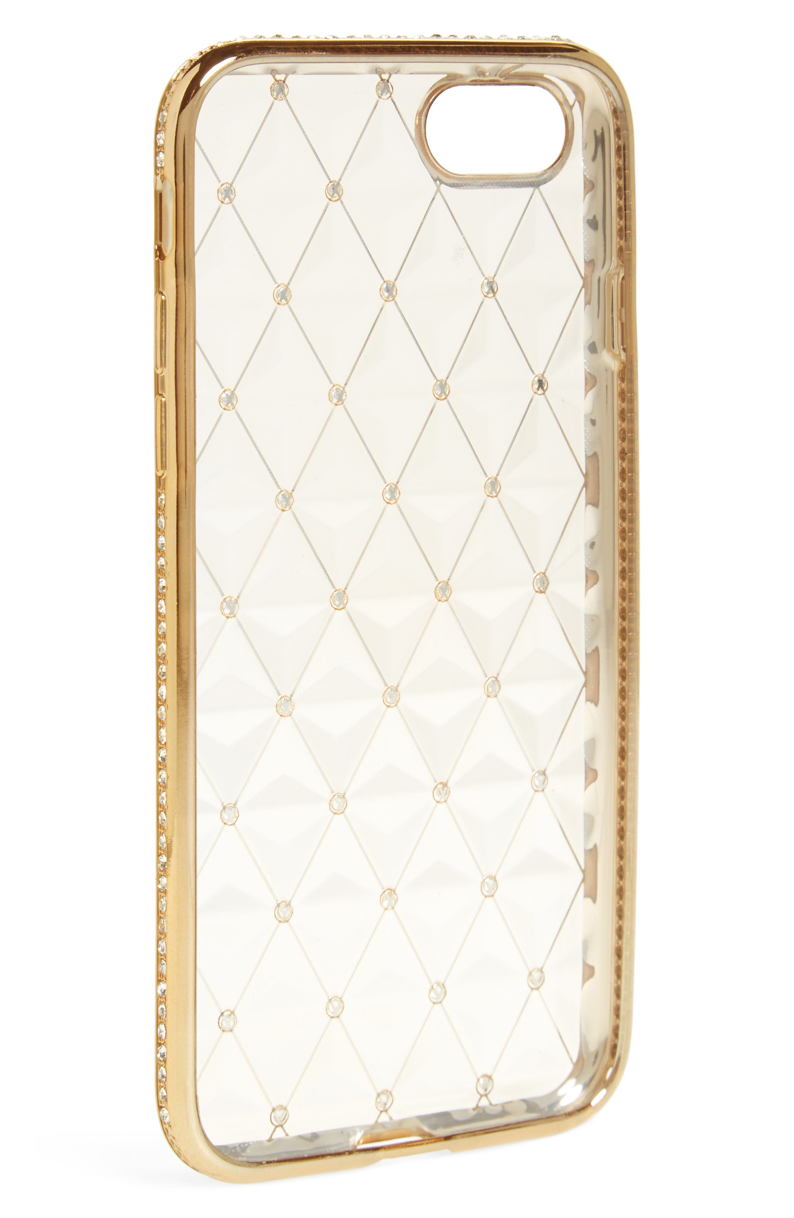 Alternate Image 2  - BP. Crystal Embellished iPhone 7 Case