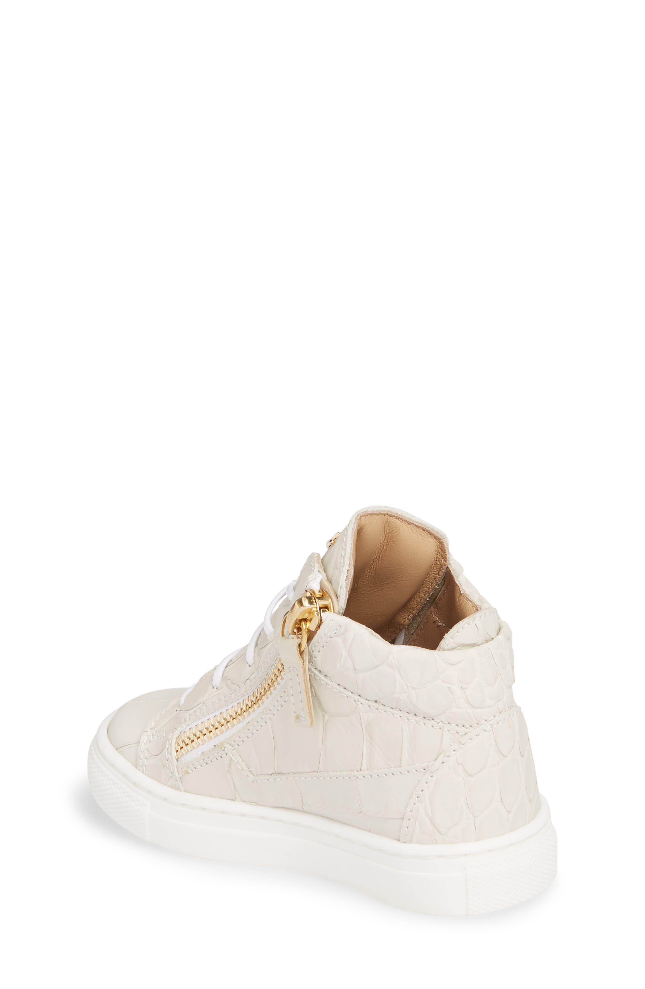 Alternate Image 2  - Giuseppe Zanotti Natalie High Top Sneaker (Baby, Walker, Toddler & Little Kid)