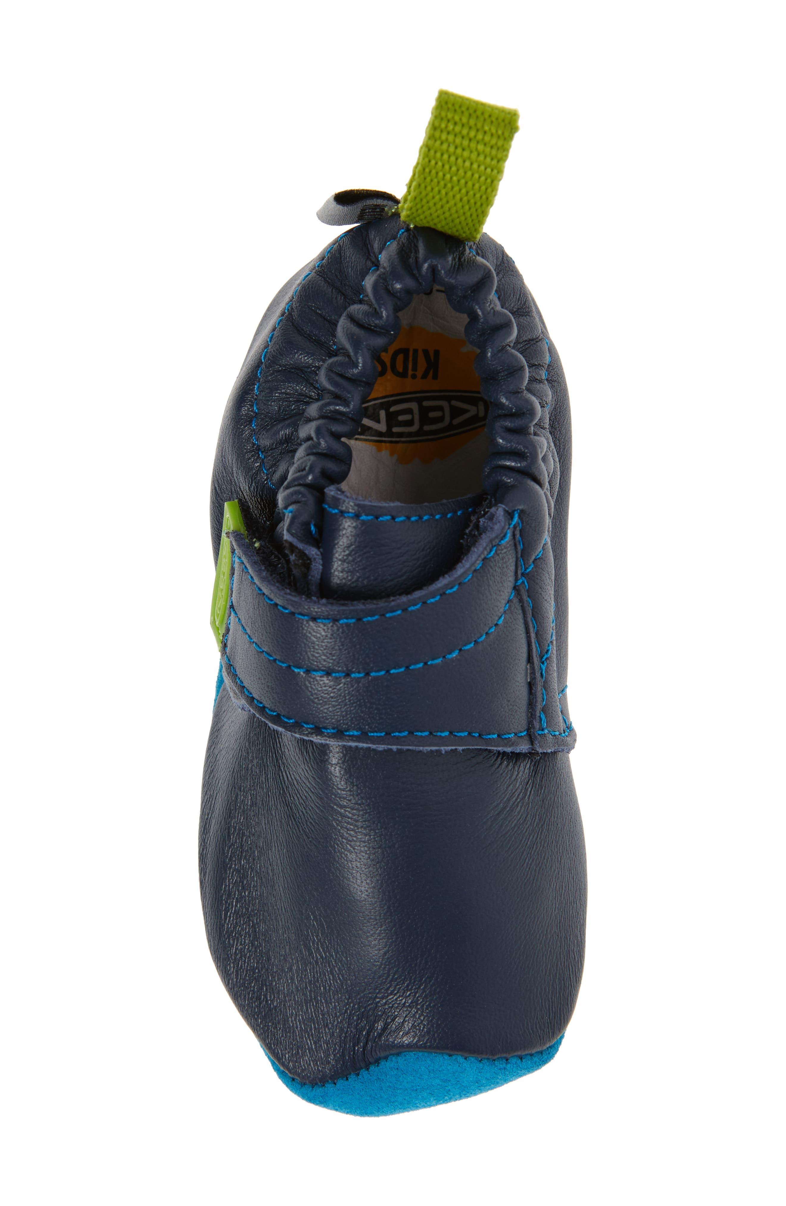 Alternate Image 5  - Keen Leo Crib Shoe (Baby & Walker)