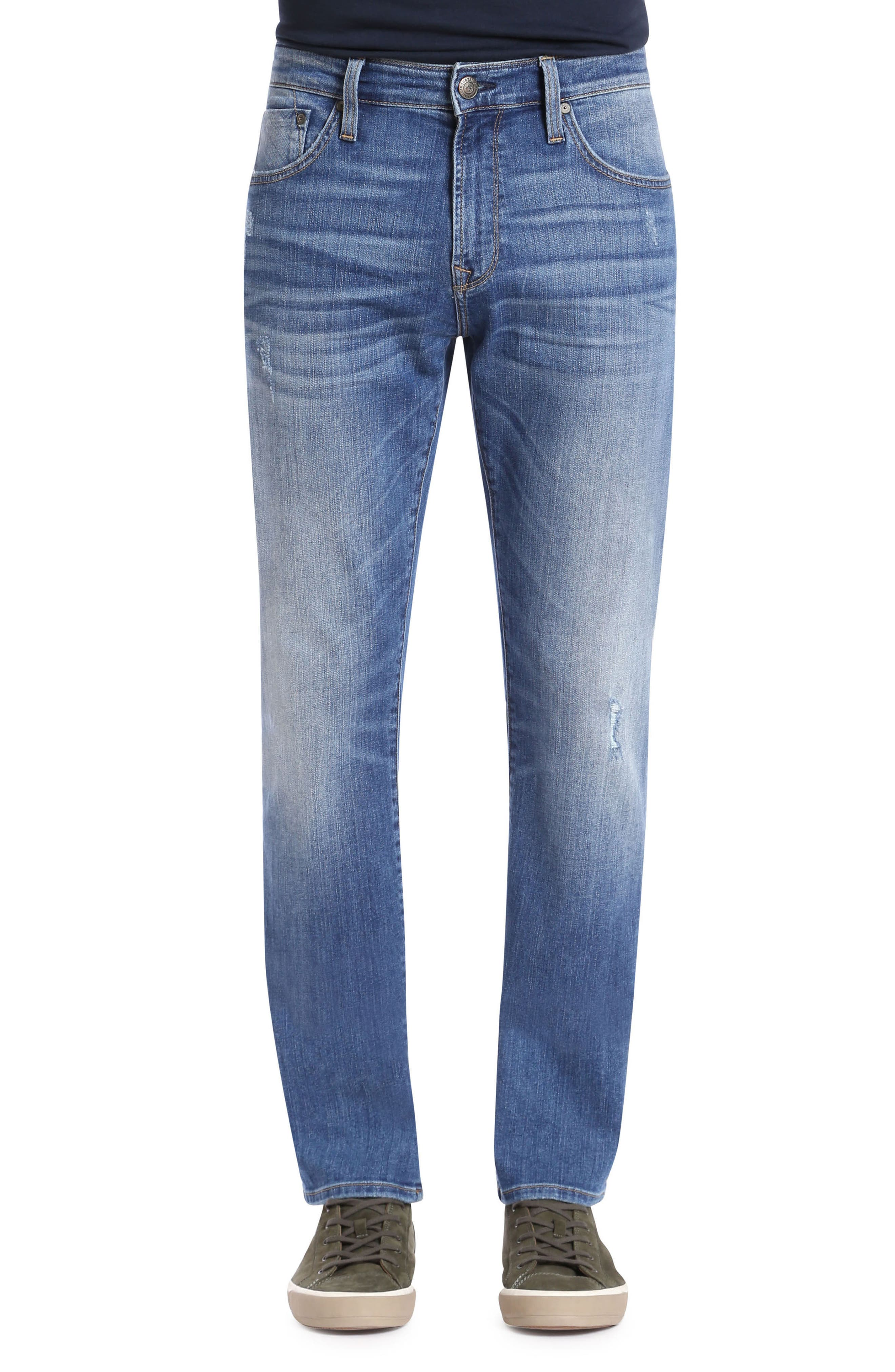 MAVI JEANS Zach Straight Fit Jeans in Authentic Vintage