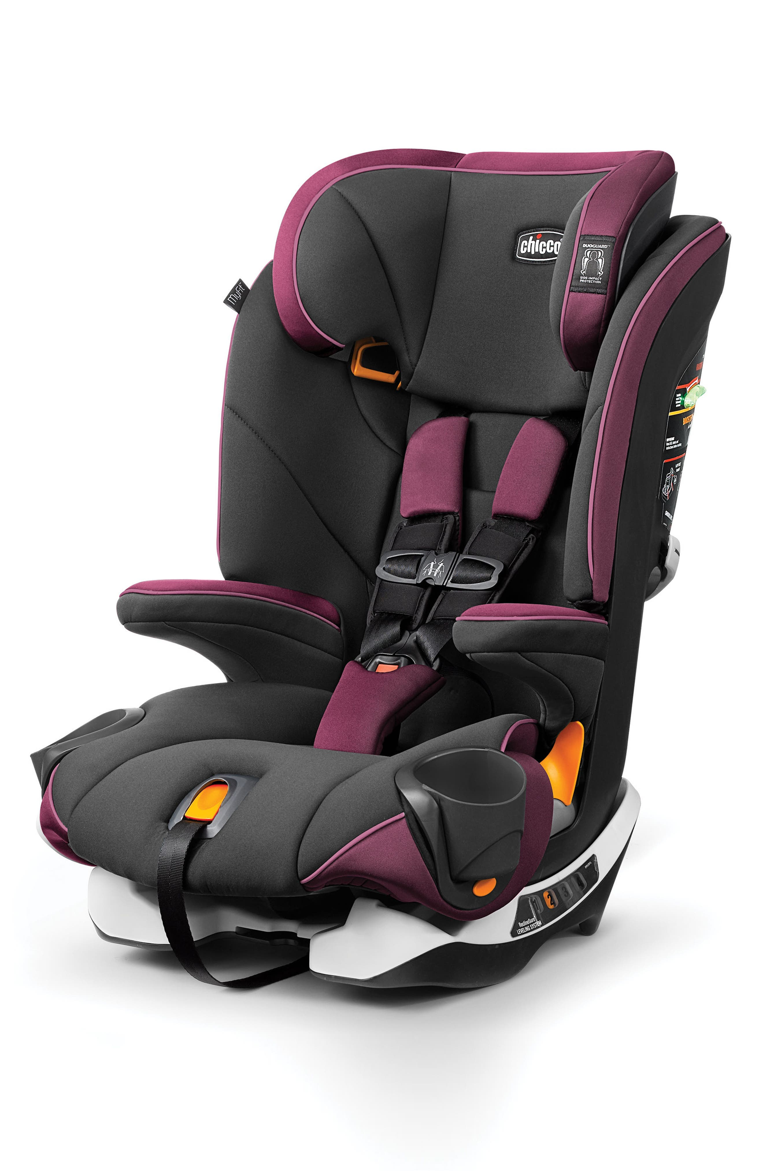 MyFit Convertible Harness + Booster Car Seat,                         Main,                         color, Gardenia