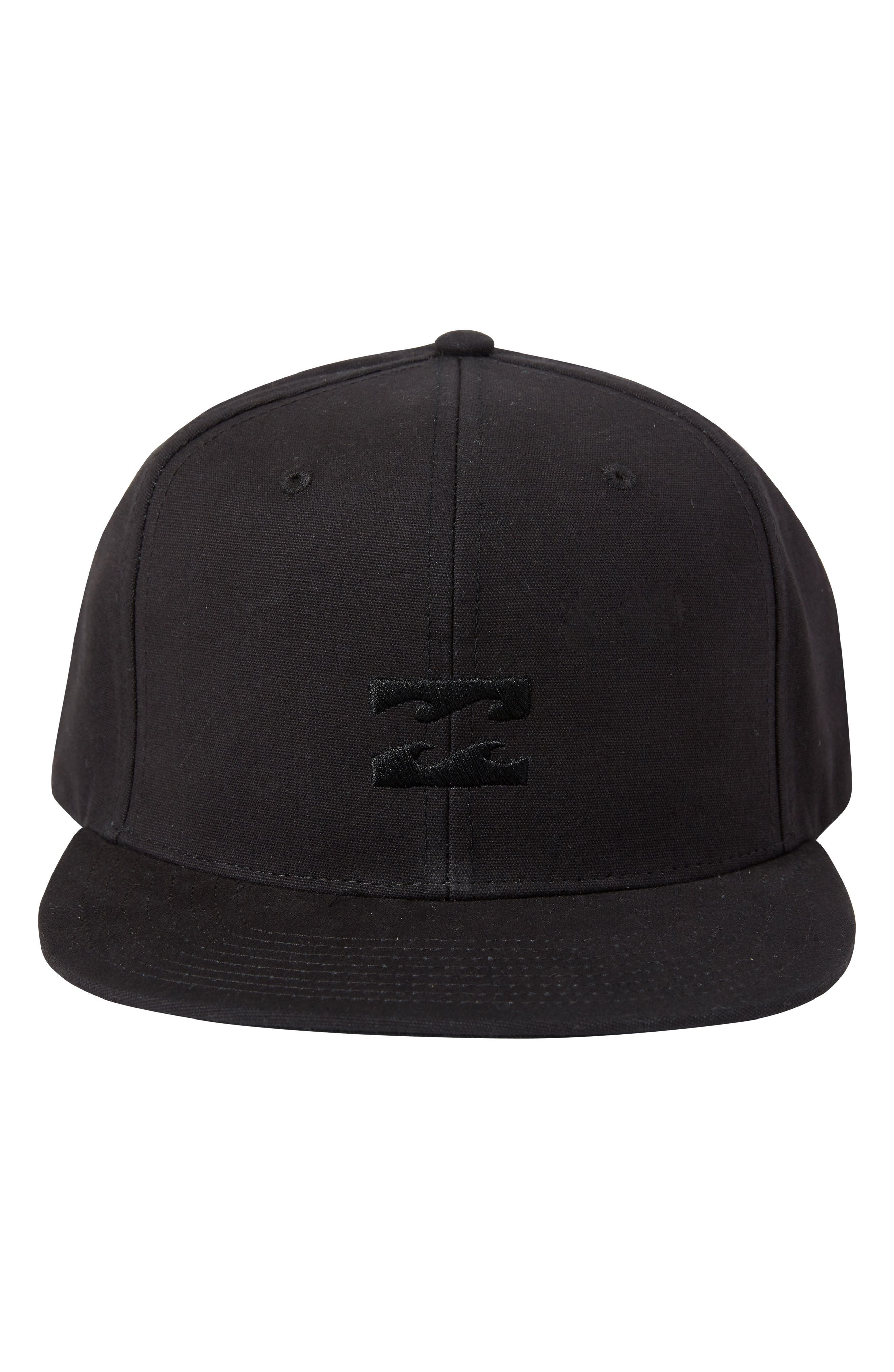 All Day Snapback Baseball Cap,                             Alternate thumbnail 3, color,                             Stealth