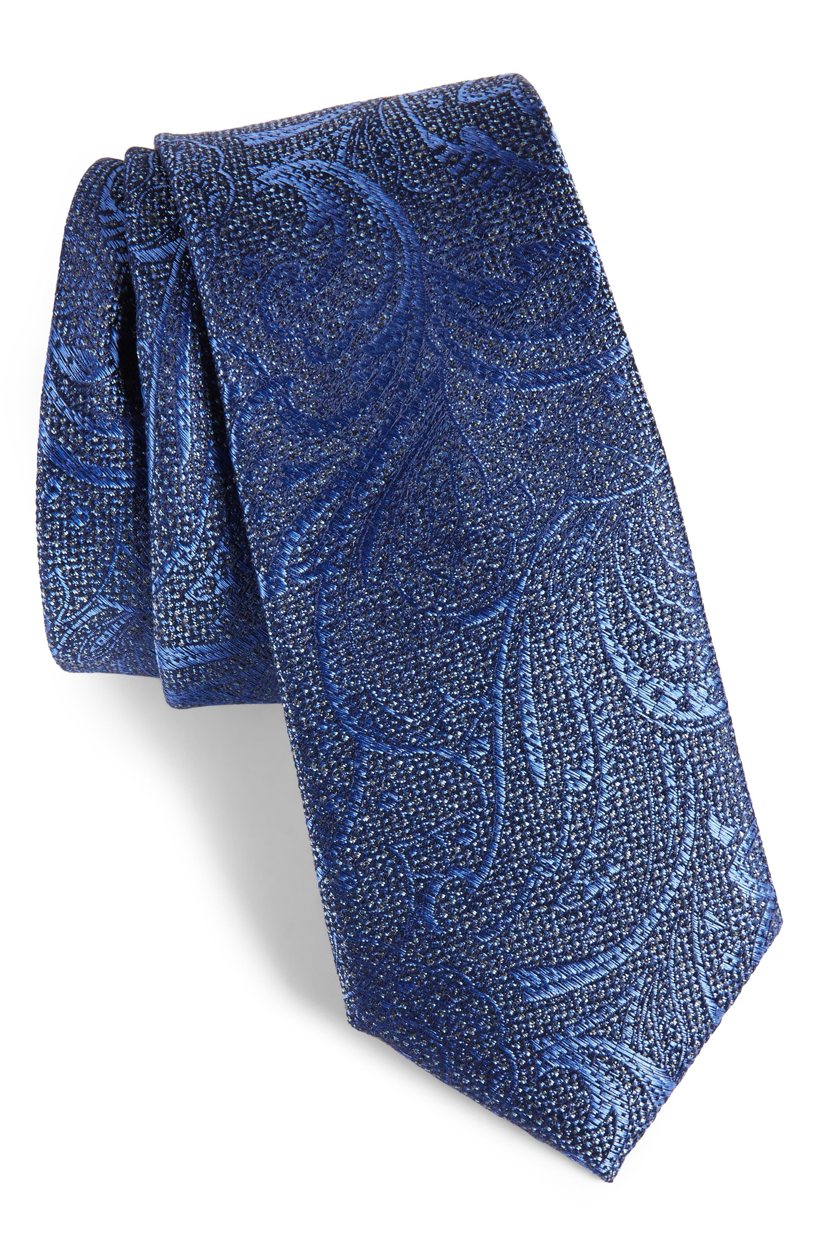 Alternate Image 1 Selected - Calibrate Hawkins Botanical Silk Tie