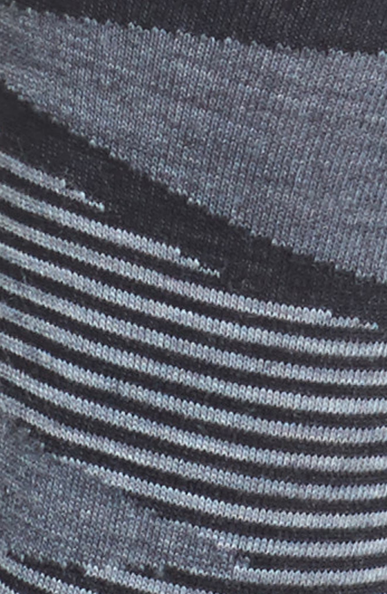 First Mate Crew Socks,                             Alternate thumbnail 2, color,                             Black