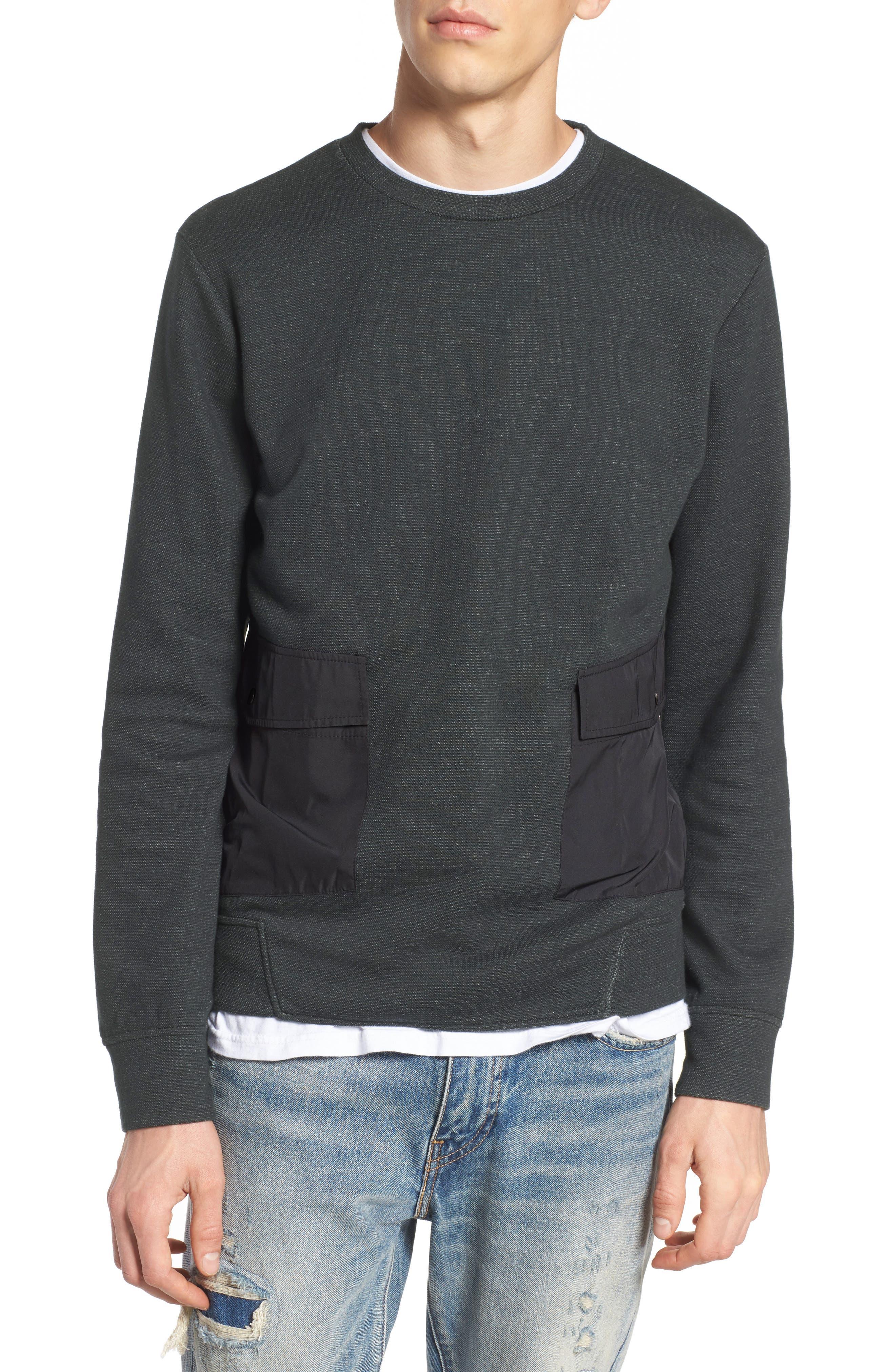 Oracle Sweatshirt,                         Main,                         color, Green