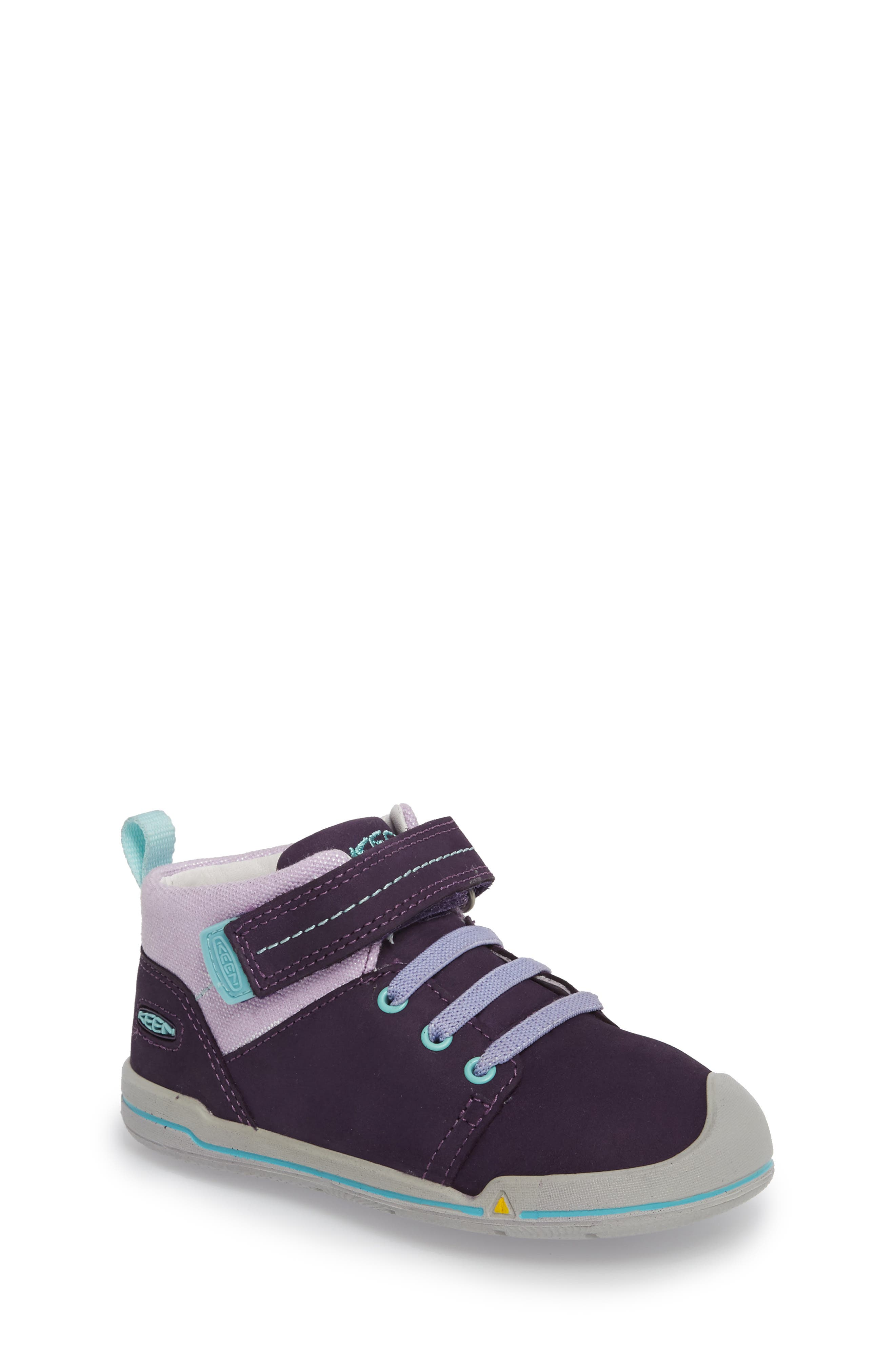 Sprout Mid Sneaker,                             Main thumbnail 1, color,                             Purple / Sweet Lavender