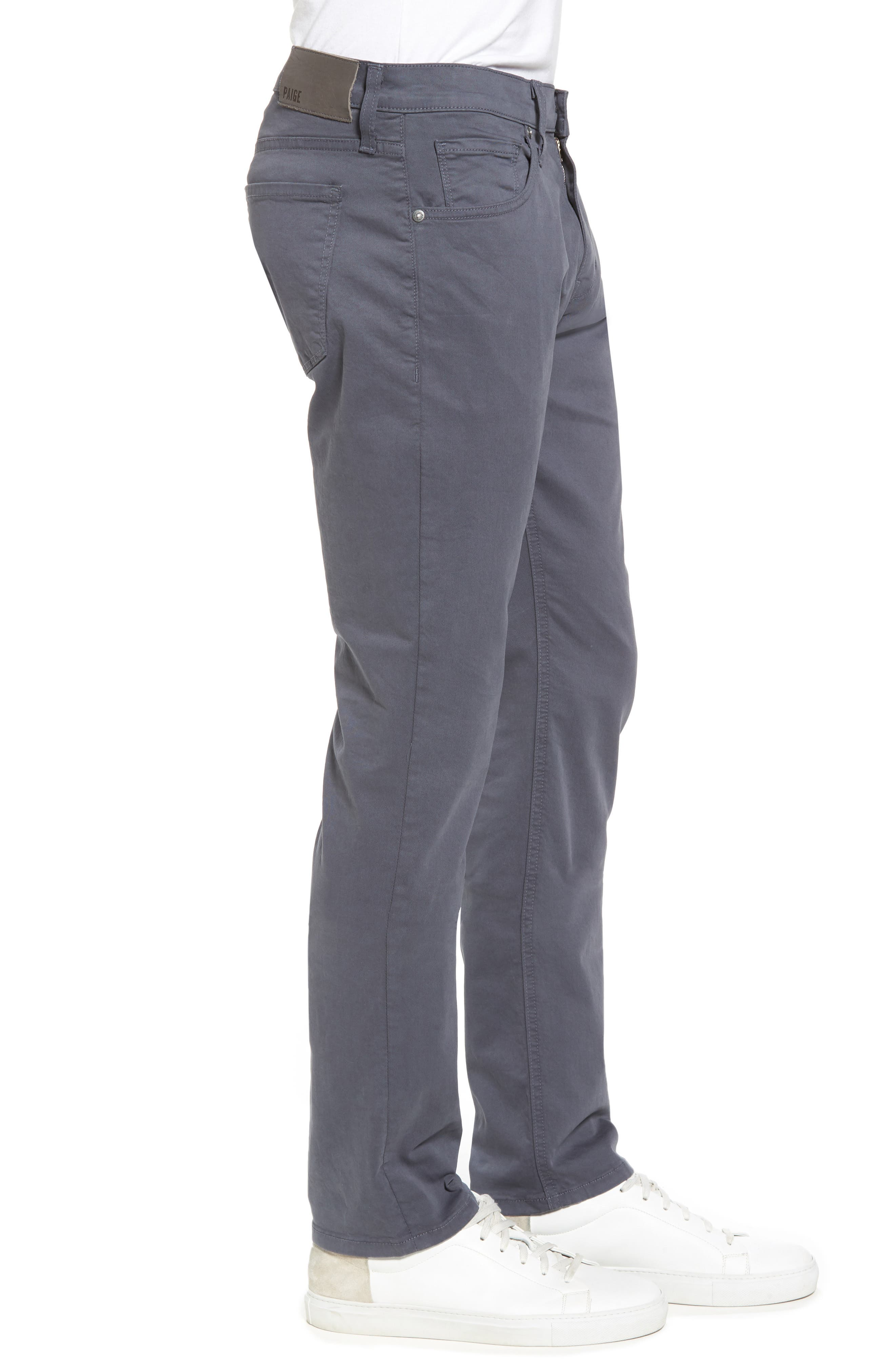 Federal Slim Straight Leg Twill Pants,                             Alternate thumbnail 3, color,                             Moon Shade