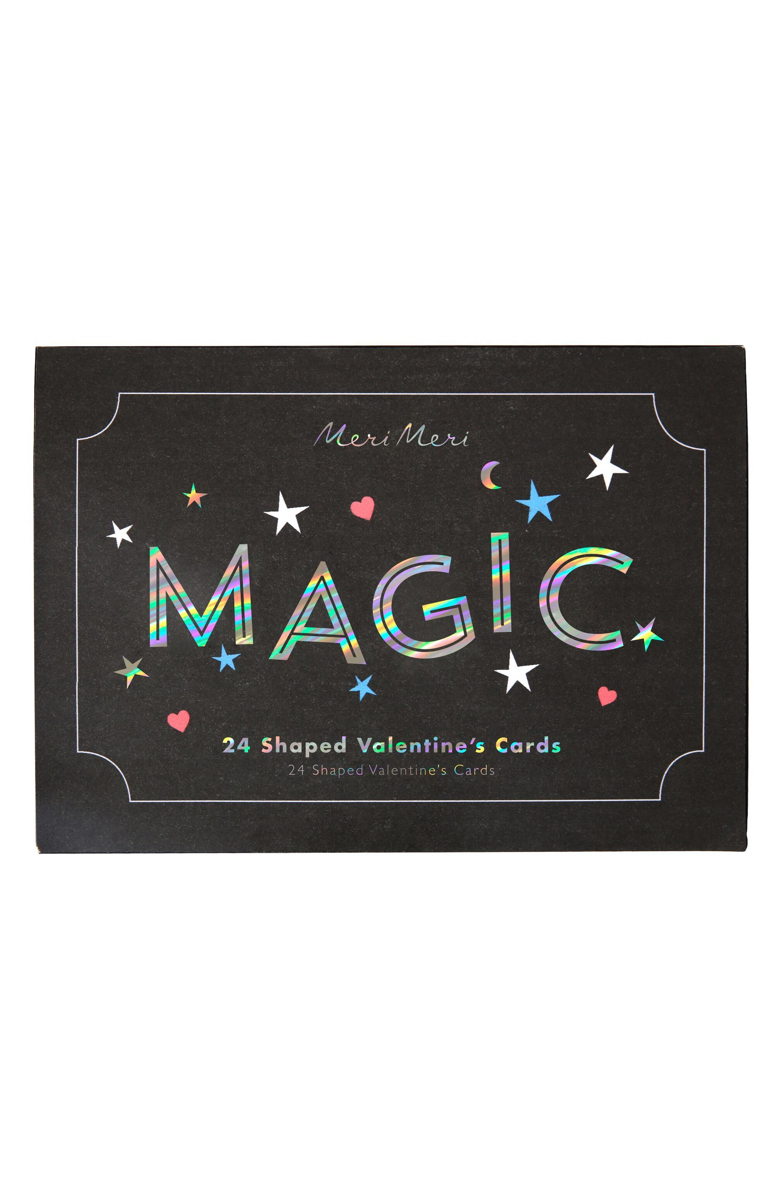 Set of 24 Magic Valentine Cards,                         Main,                         color, Multi