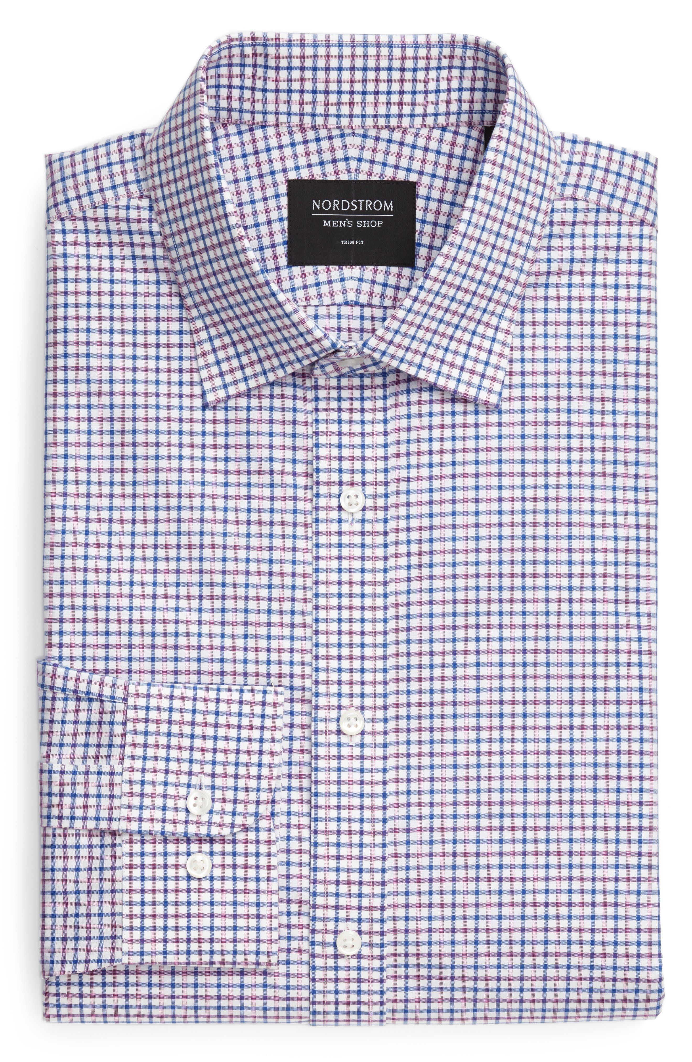 Alternate Image 6  - Nordstrom Men's Shop Classic Fit Check Dress Shirt
