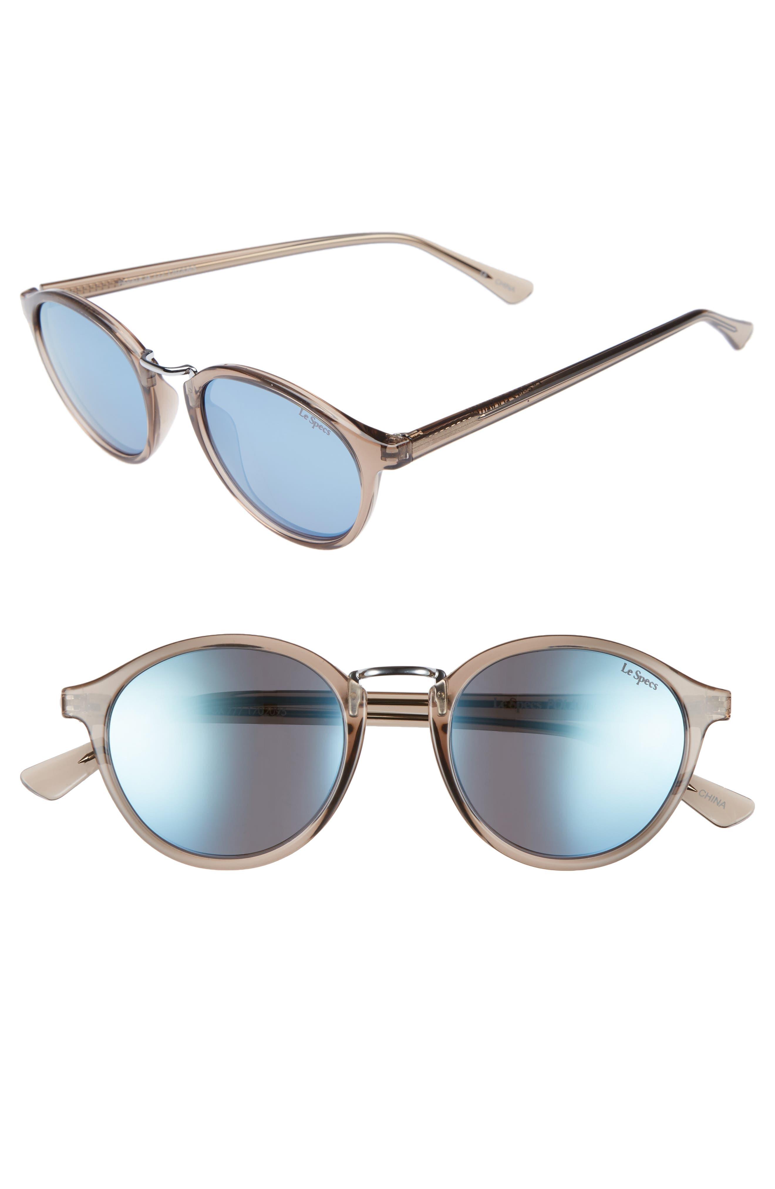 Main Image - Le Specs Paradox 49mm Oval Sunglasses