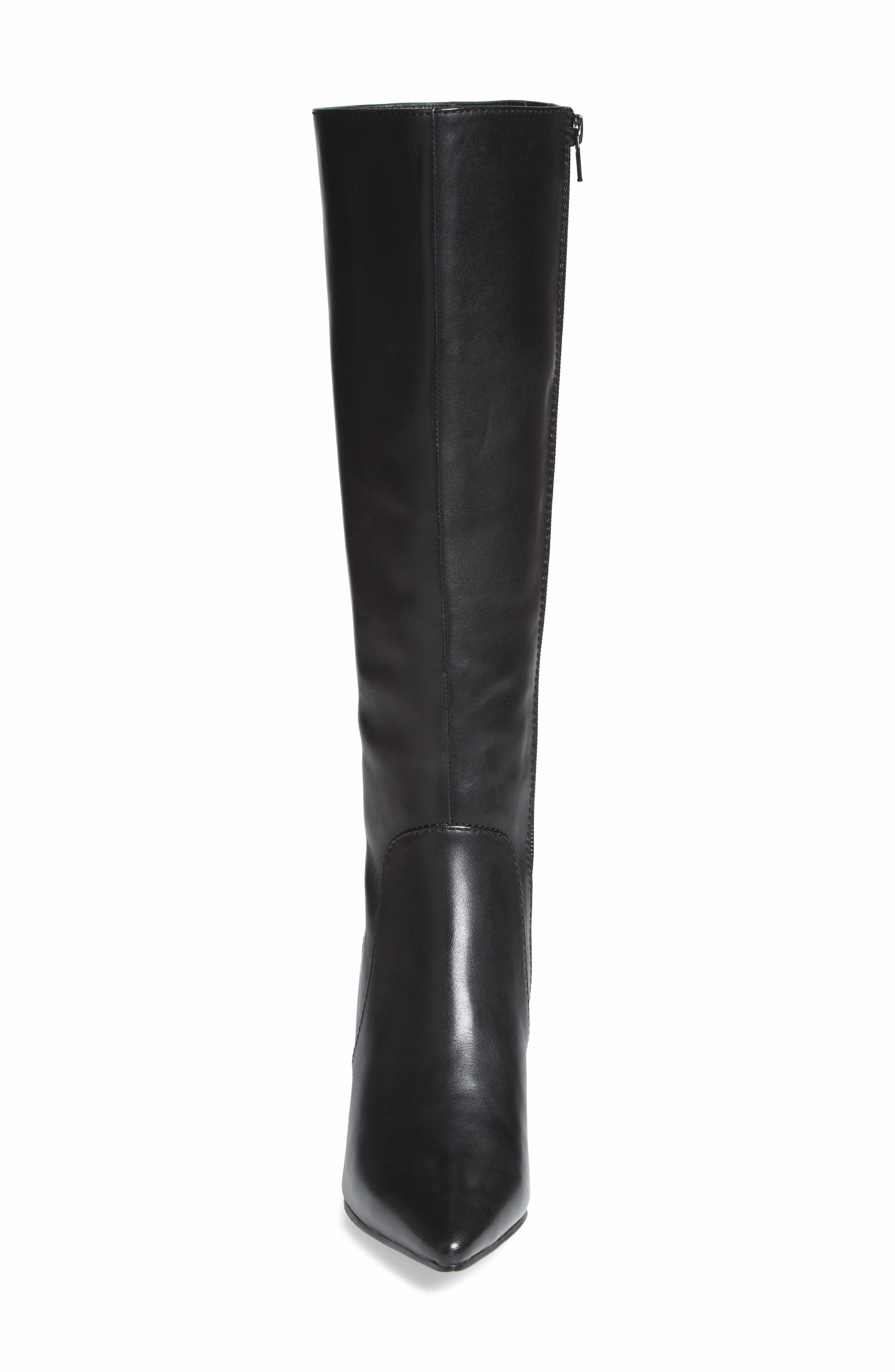 Blink Boot,                             Alternate thumbnail 4, color,                             Black Leather