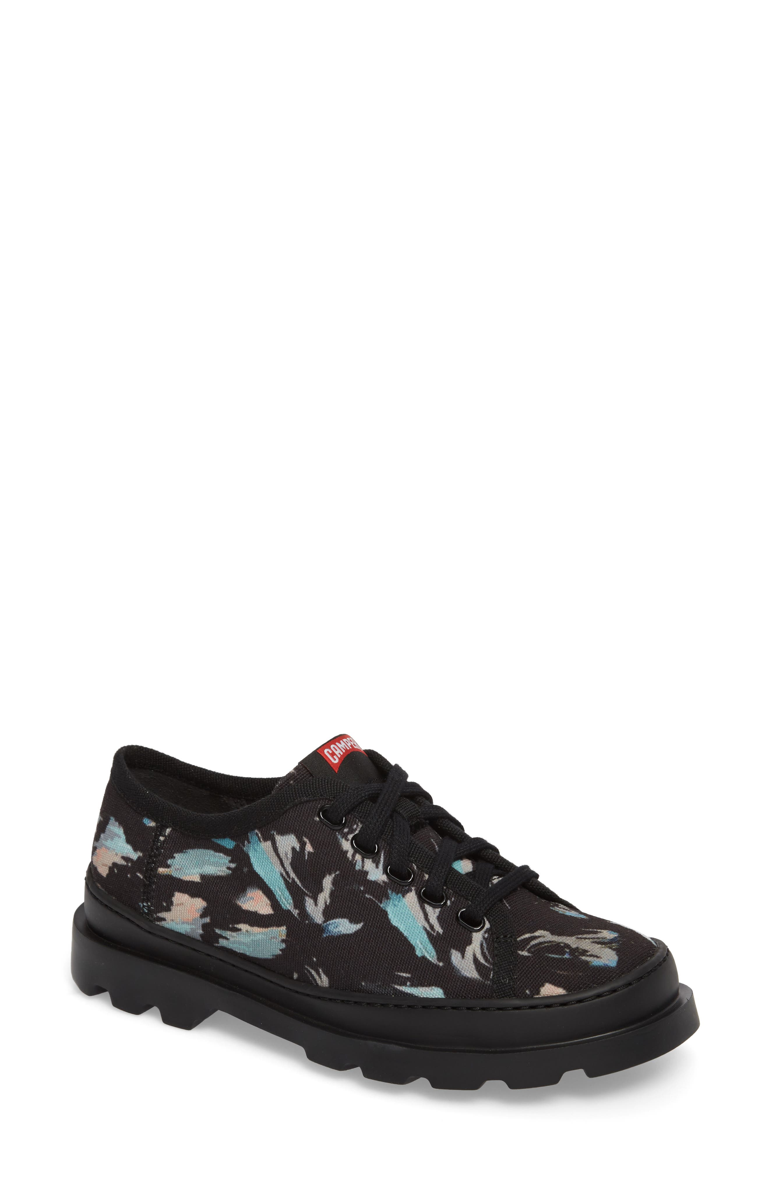Brutus Lugged Platform Sneaker,                         Main,                         color, Black Multi