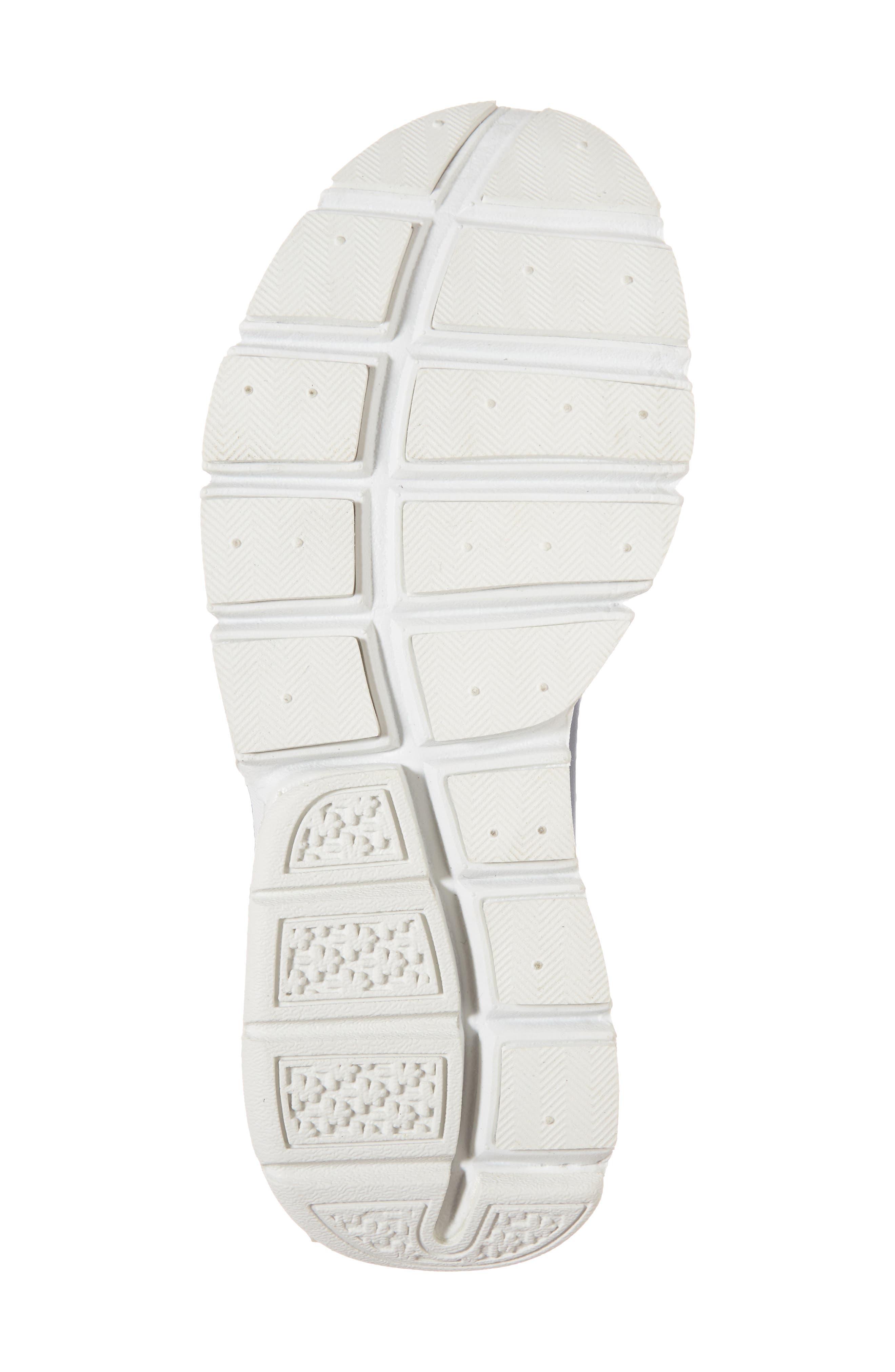 Sock Dart Sneaker,                             Alternate thumbnail 6, color,                             Metallic/ Armory Navy