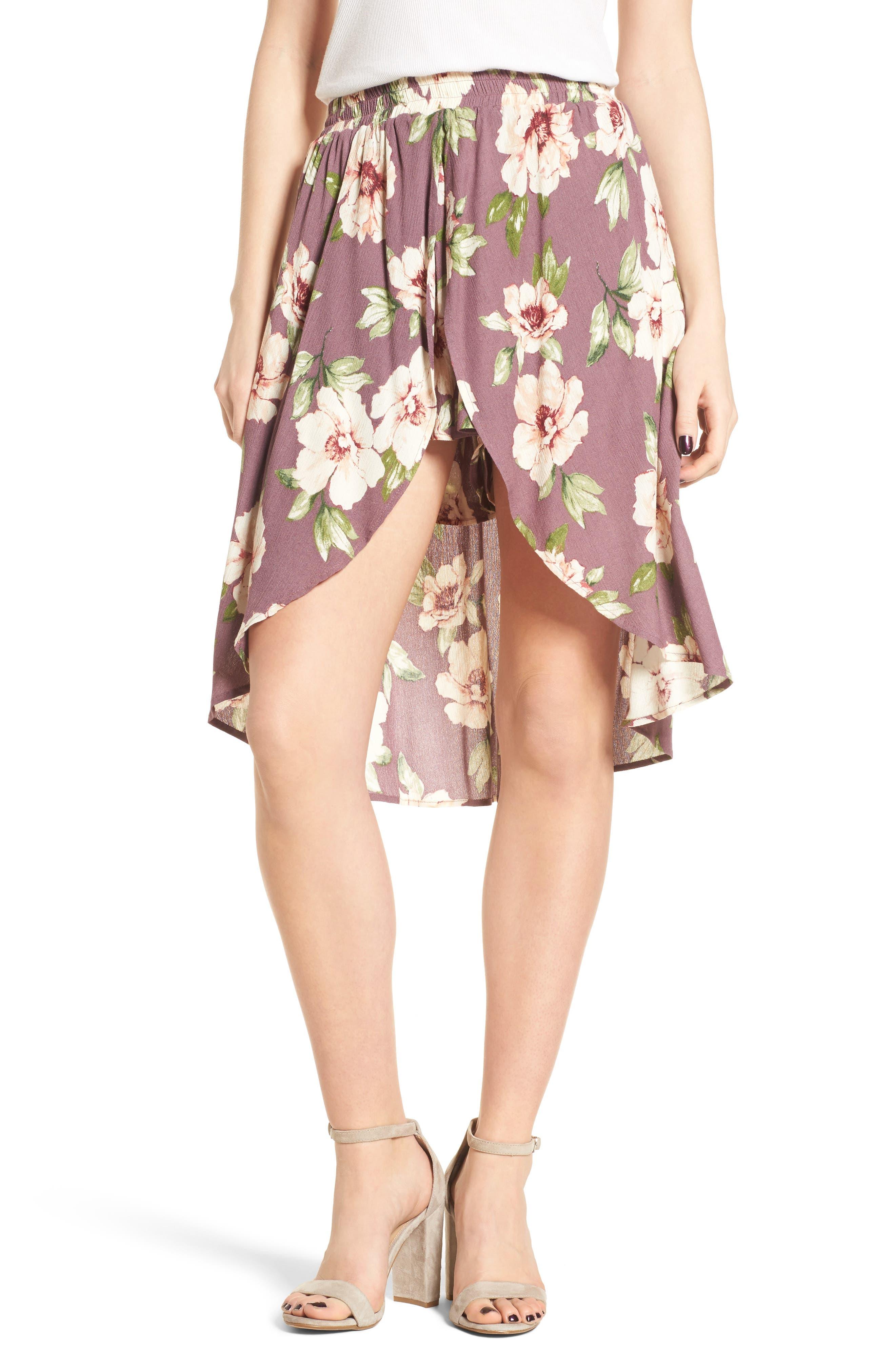 BP. Floral Walk Through Shorts