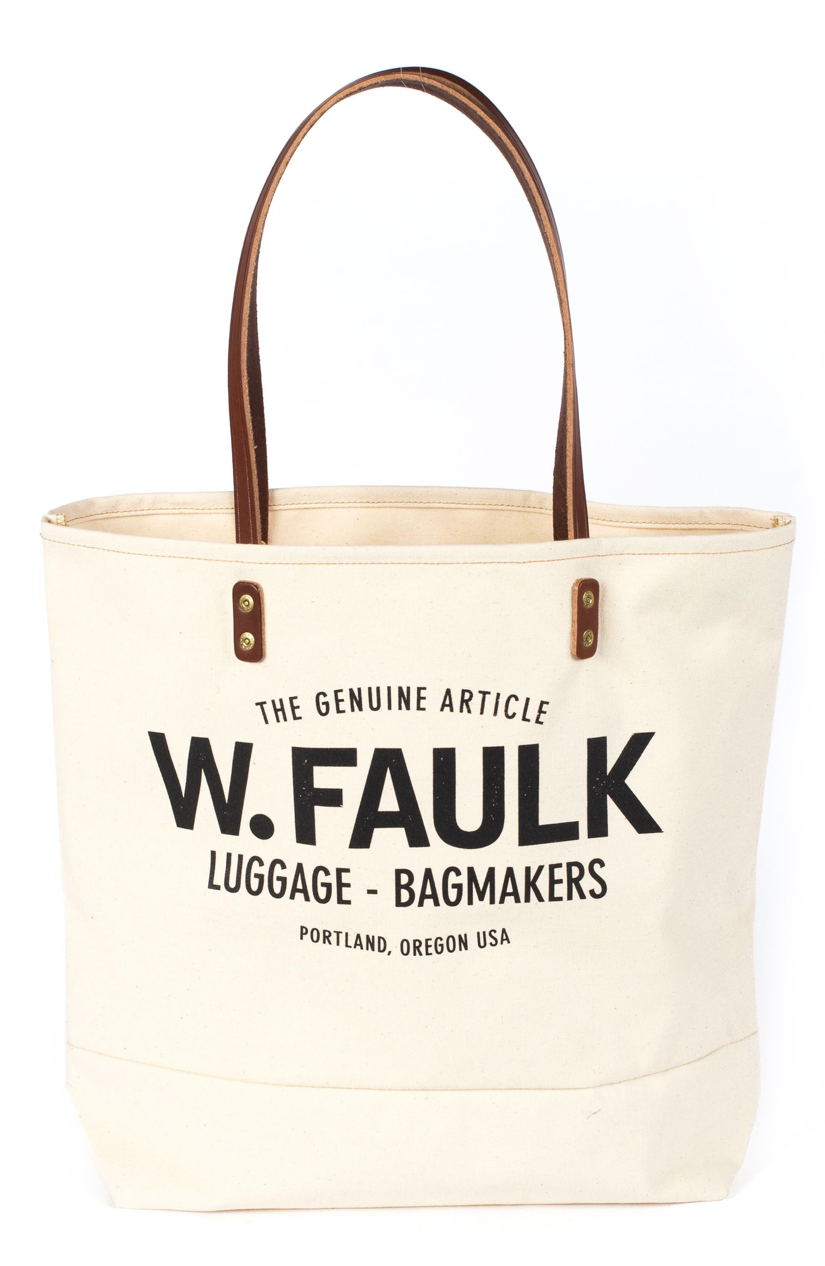 Alternate Image 1 Selected - Wood&Faulk Grocery Getter Tote Bag