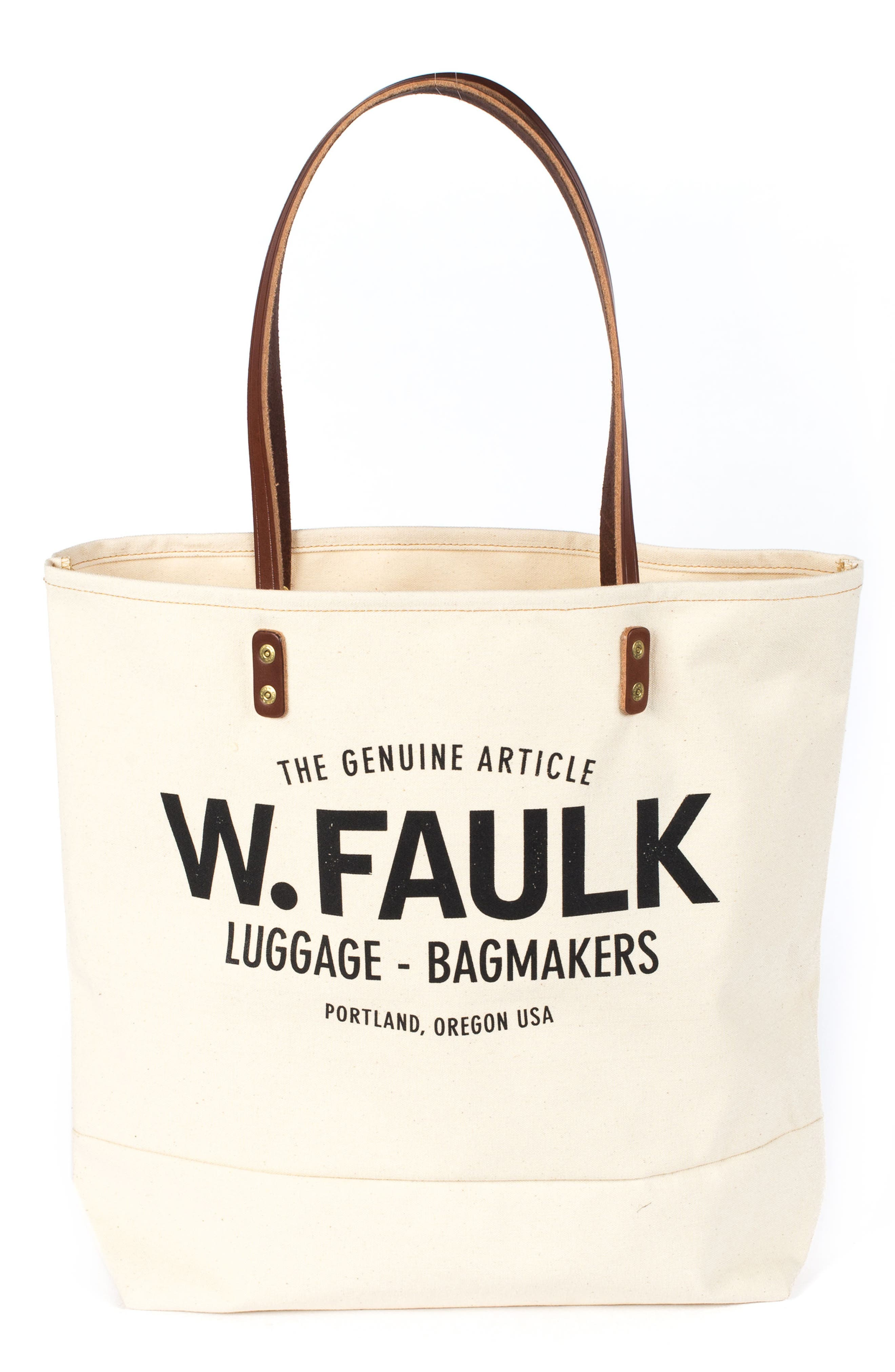 Main Image - Wood&Faulk Grocery Getter Tote Bag