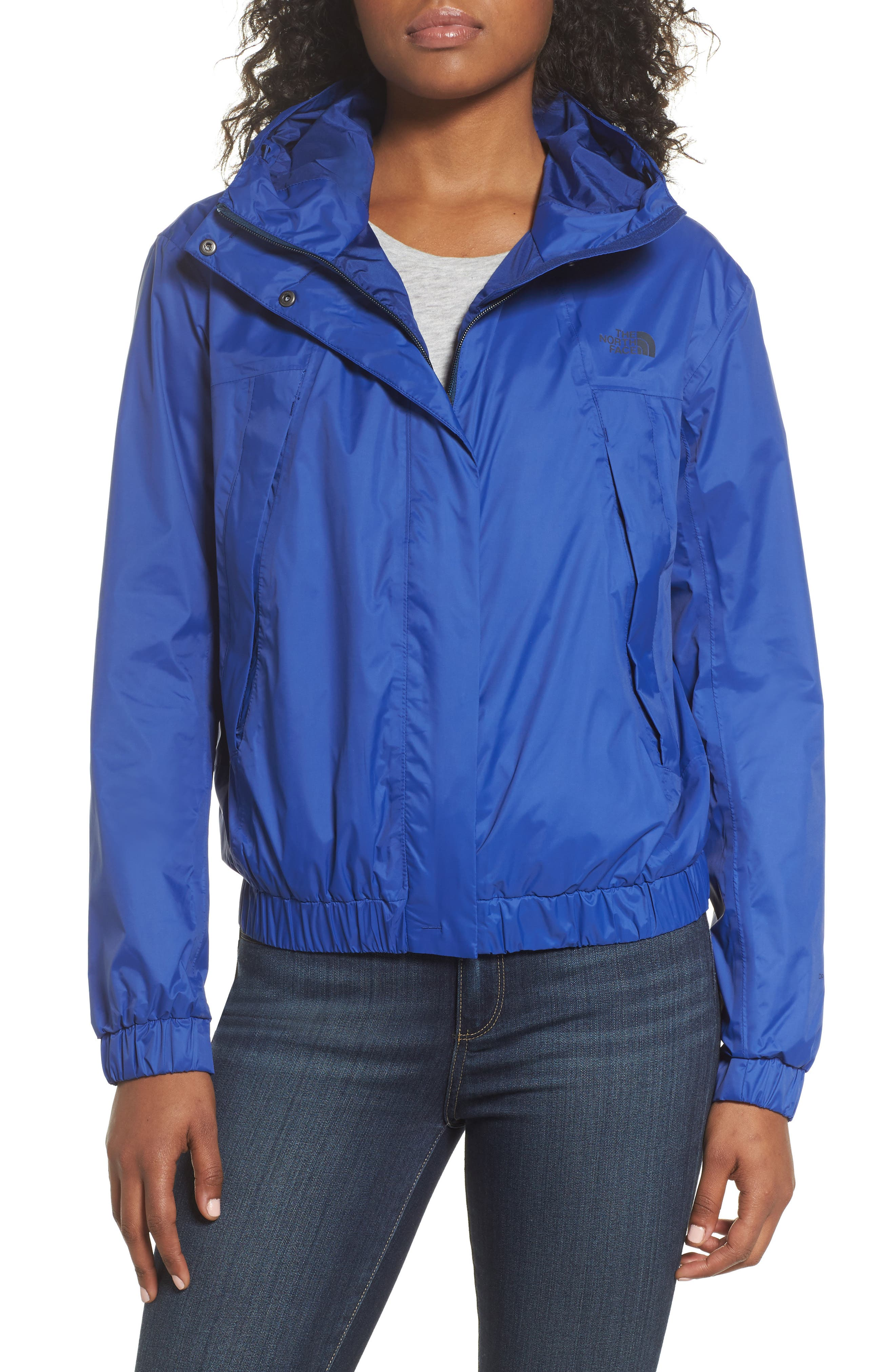 Precita Rain Jacket,                         Main,                         color, Sodalite Blue