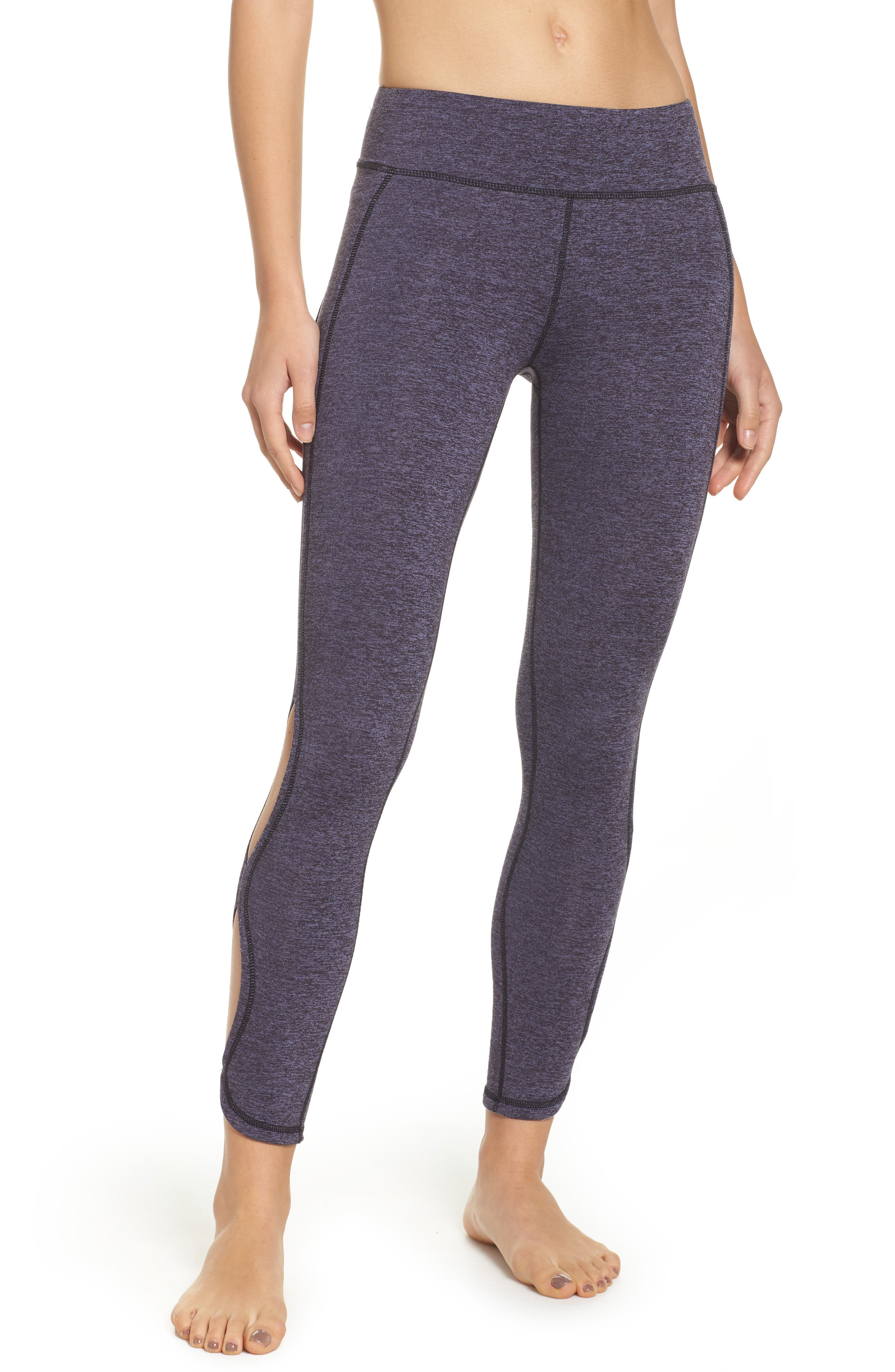 FP Movement Infinity Cutout Crop Leggings,                         Main,                         color, Navy