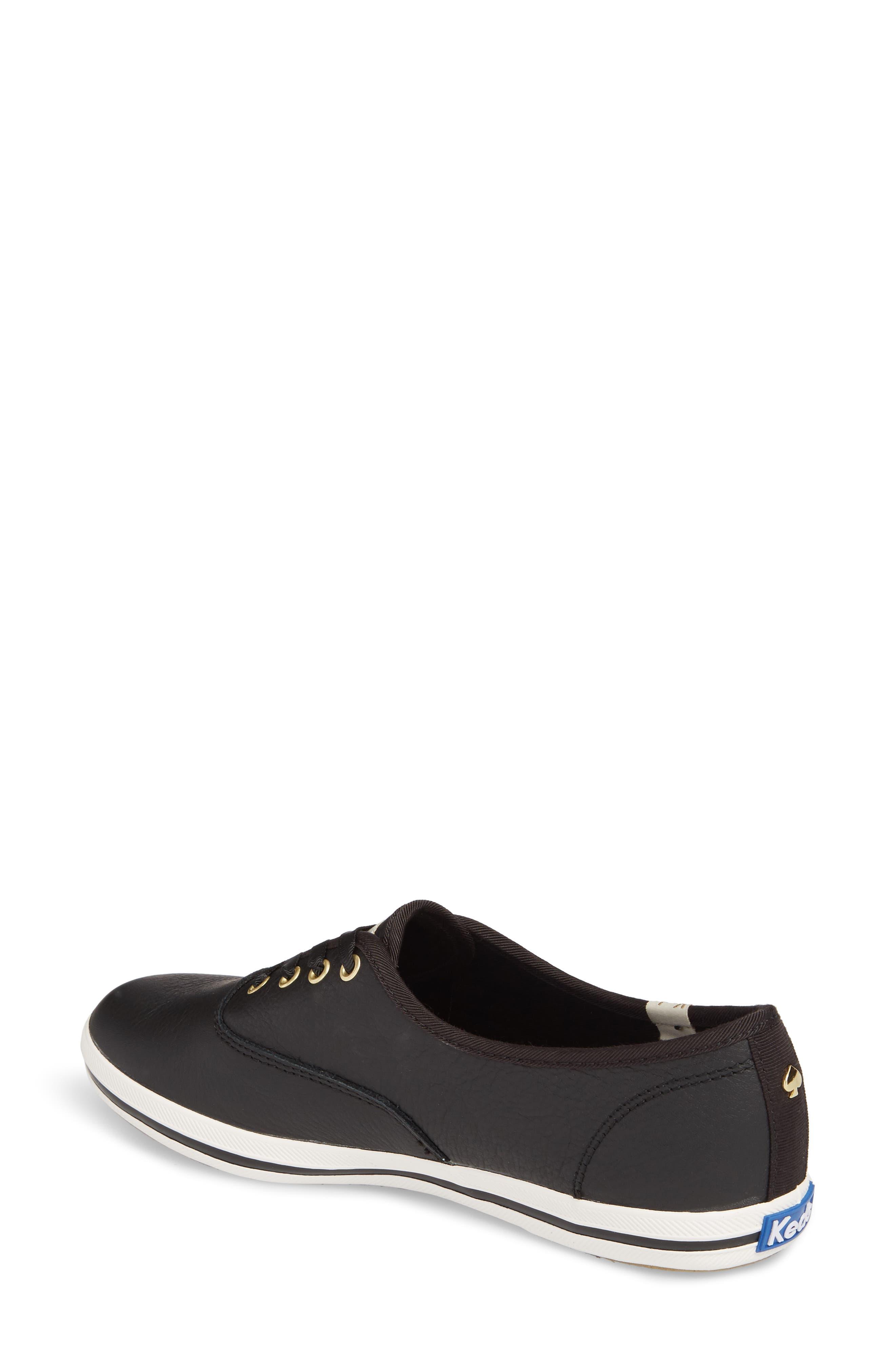 Alternate Image 2  - Keds® for kate spade new york leather sneaker (Women)