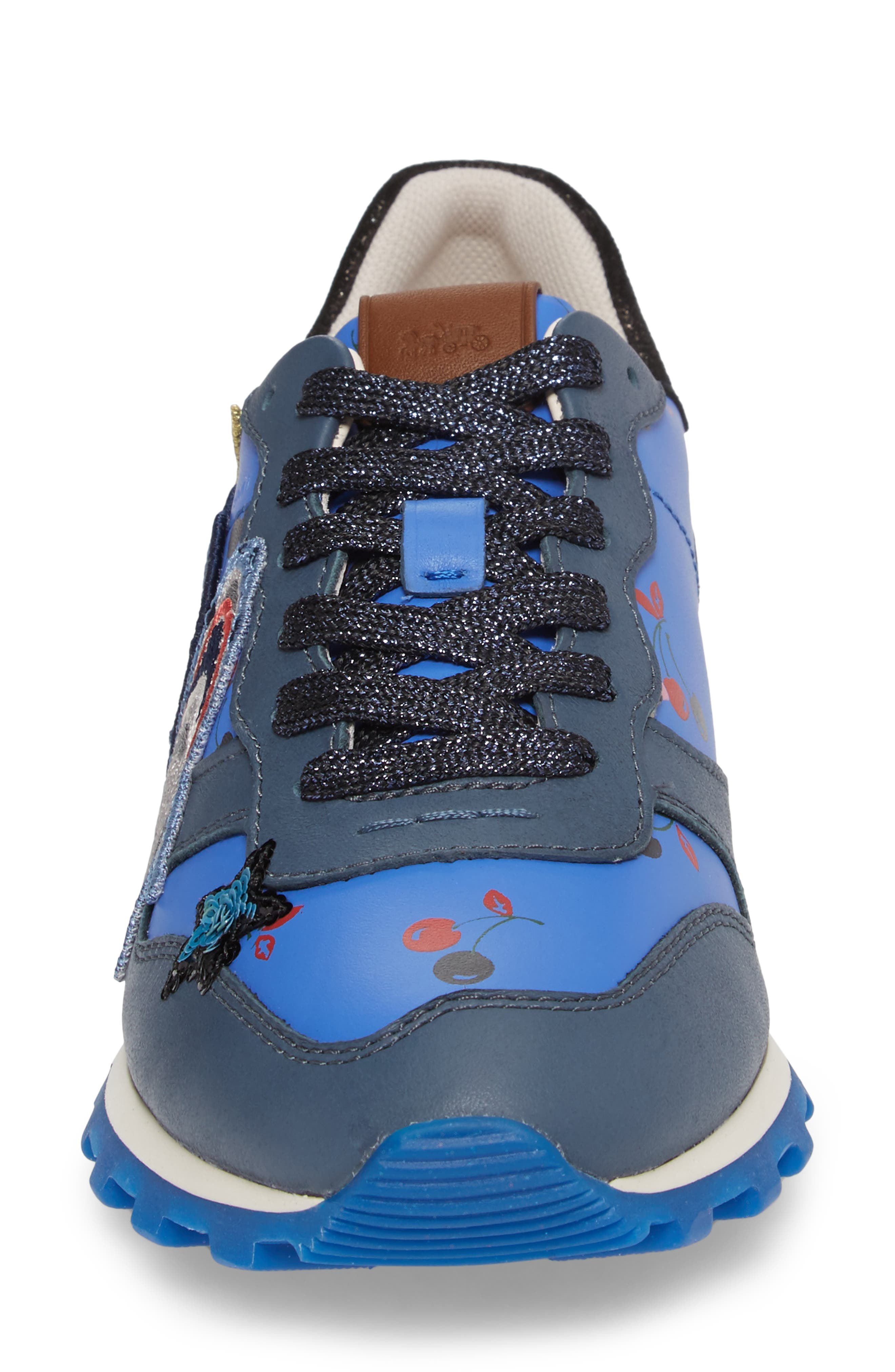 Alternate Image 4  - COACH Patch Sneaker (Women)
