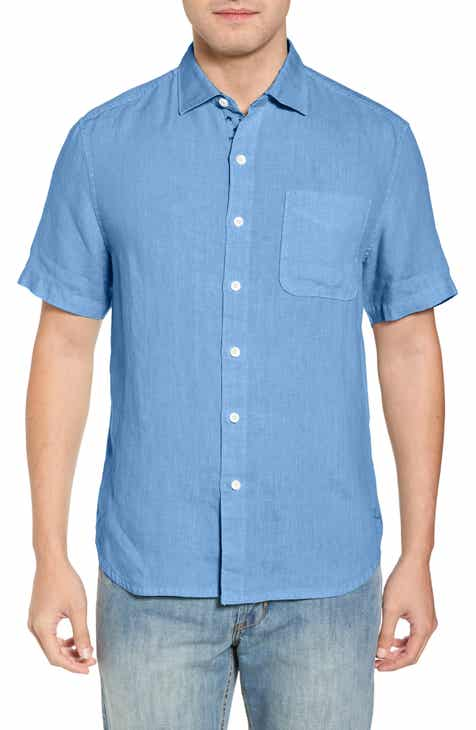 7048d24dec9 Tommy Bahama Seaspray Breezer Regular Fit Linen Sport Shirt