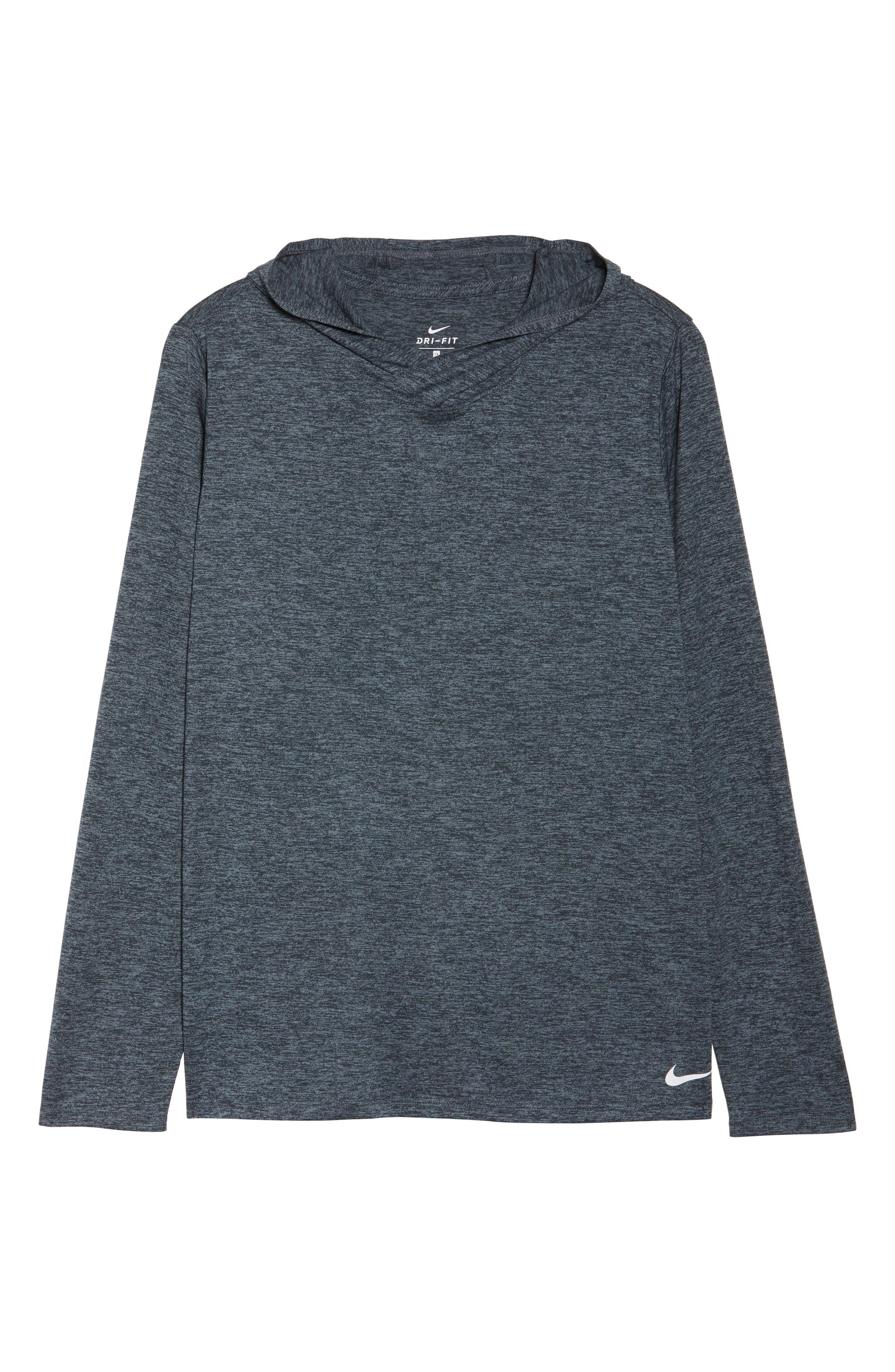 Dry Training Hoodie,                             Alternate thumbnail 8, color,                             Black/ Cool Grey/ White