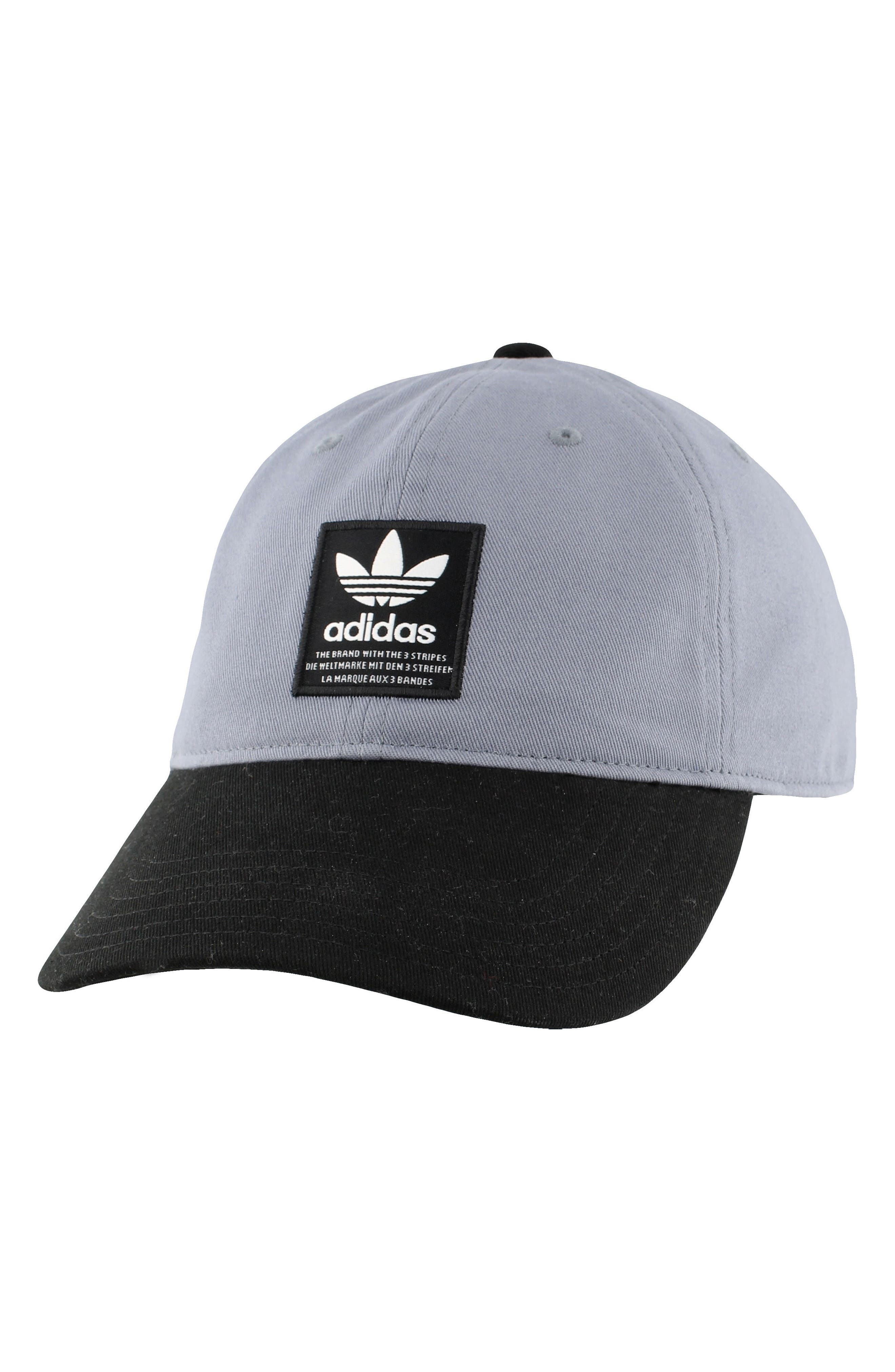 Relaxed Logo Baseball Cap,                         Main,                         color, Med Grey