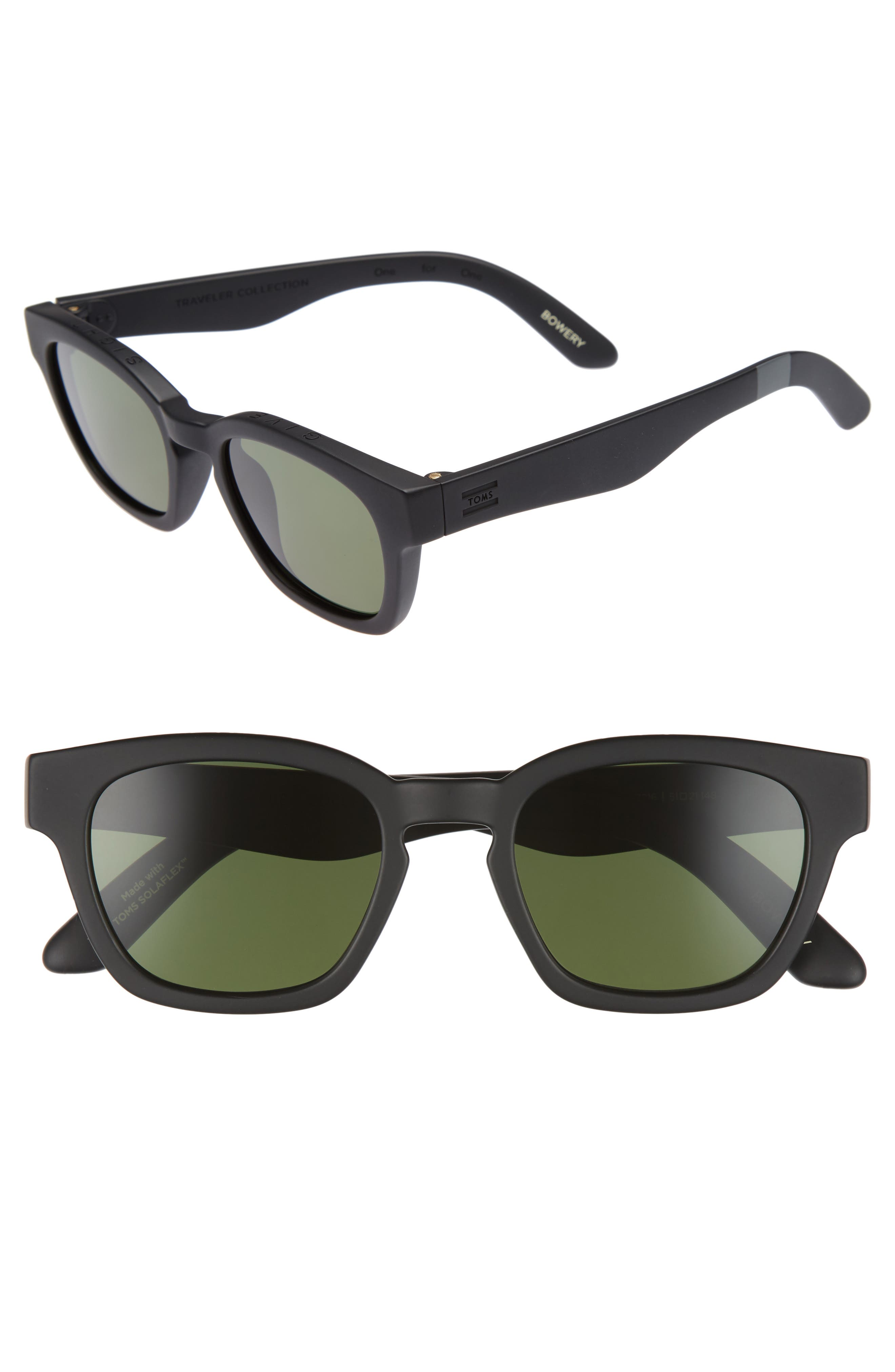 Main Image - TOMS Bowery 51mm Polarized Sunglasses