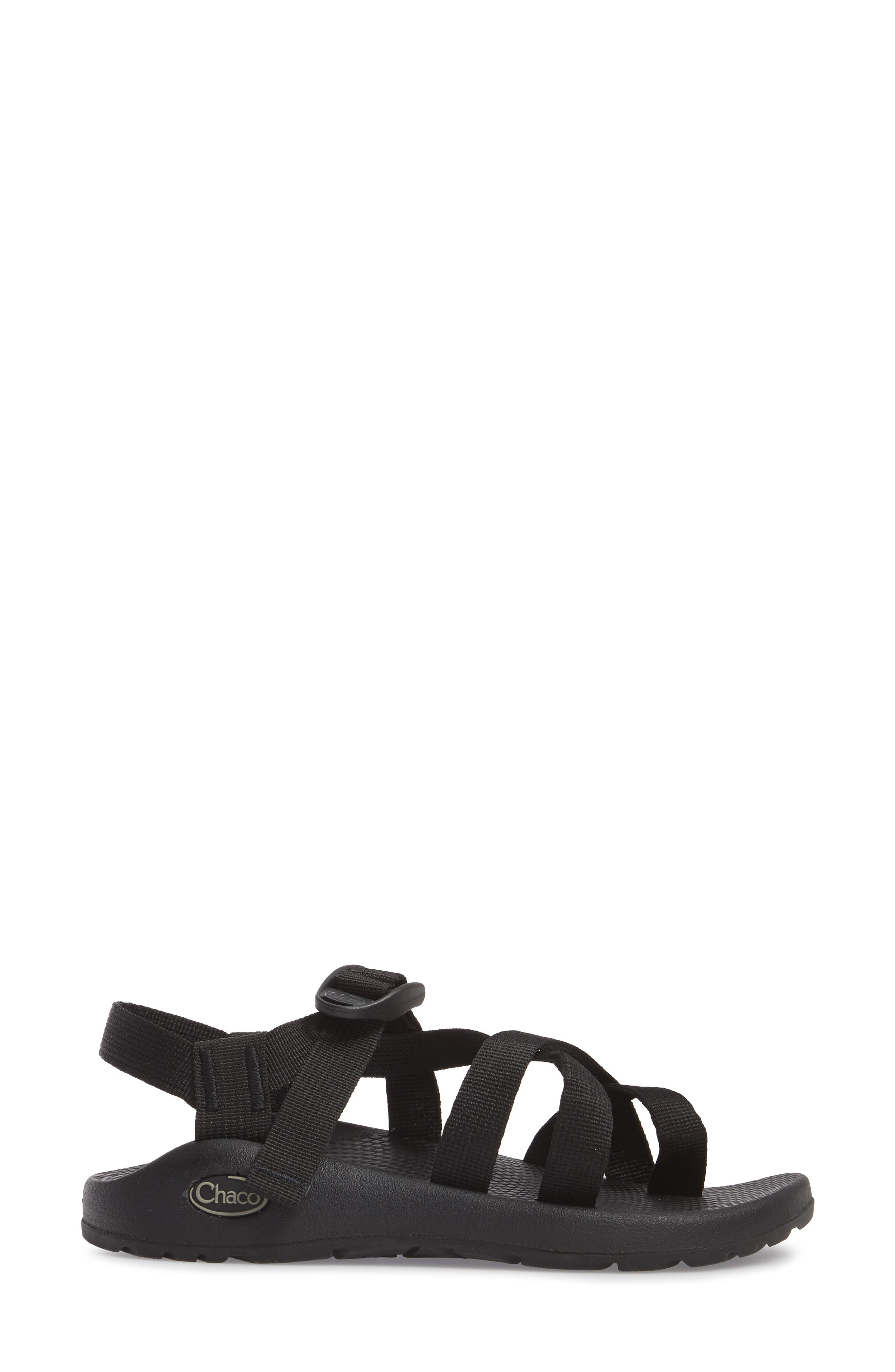 Z/2 Classic Sport Sandal,                             Alternate thumbnail 3, color,                             Black