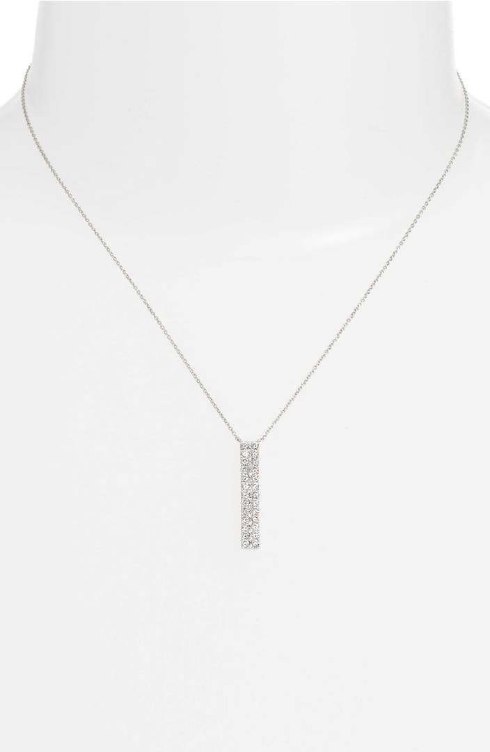 Diamond Bar Necklace Nordstrom