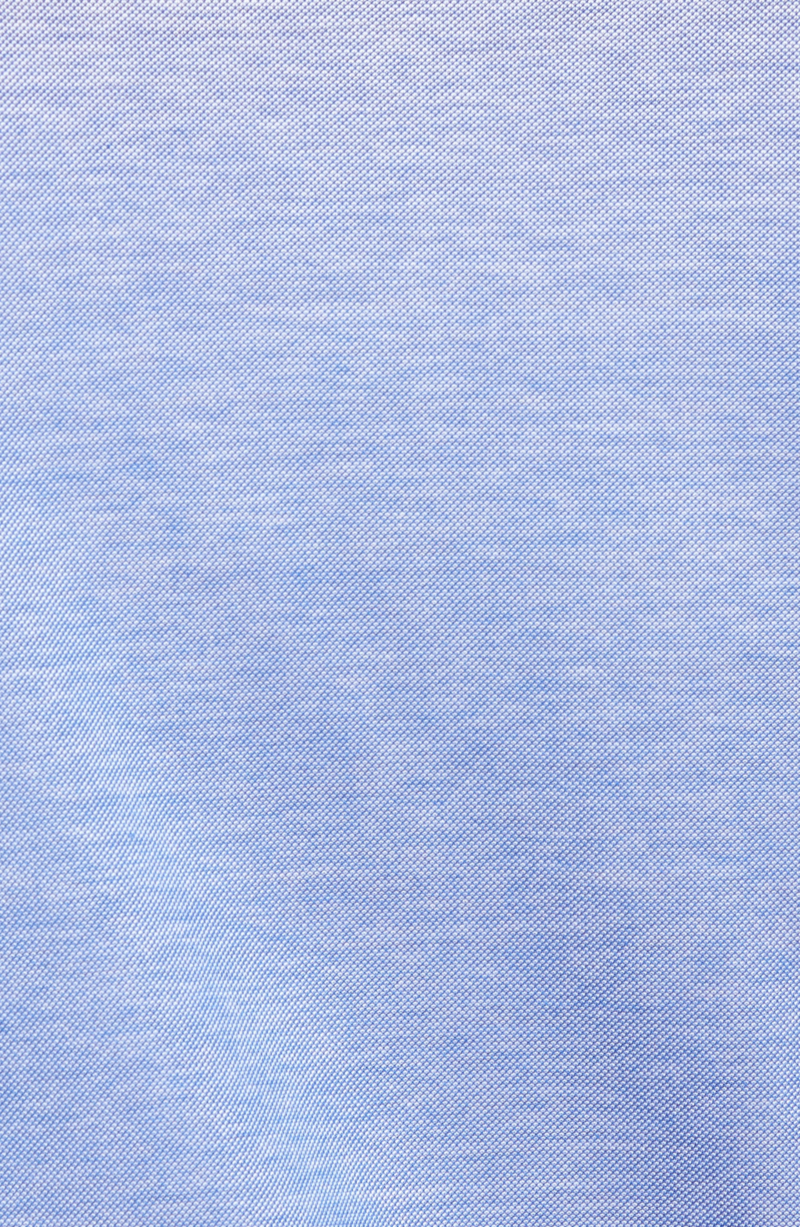 Knit Sport Shirt,                             Alternate thumbnail 5, color,                             Blue
