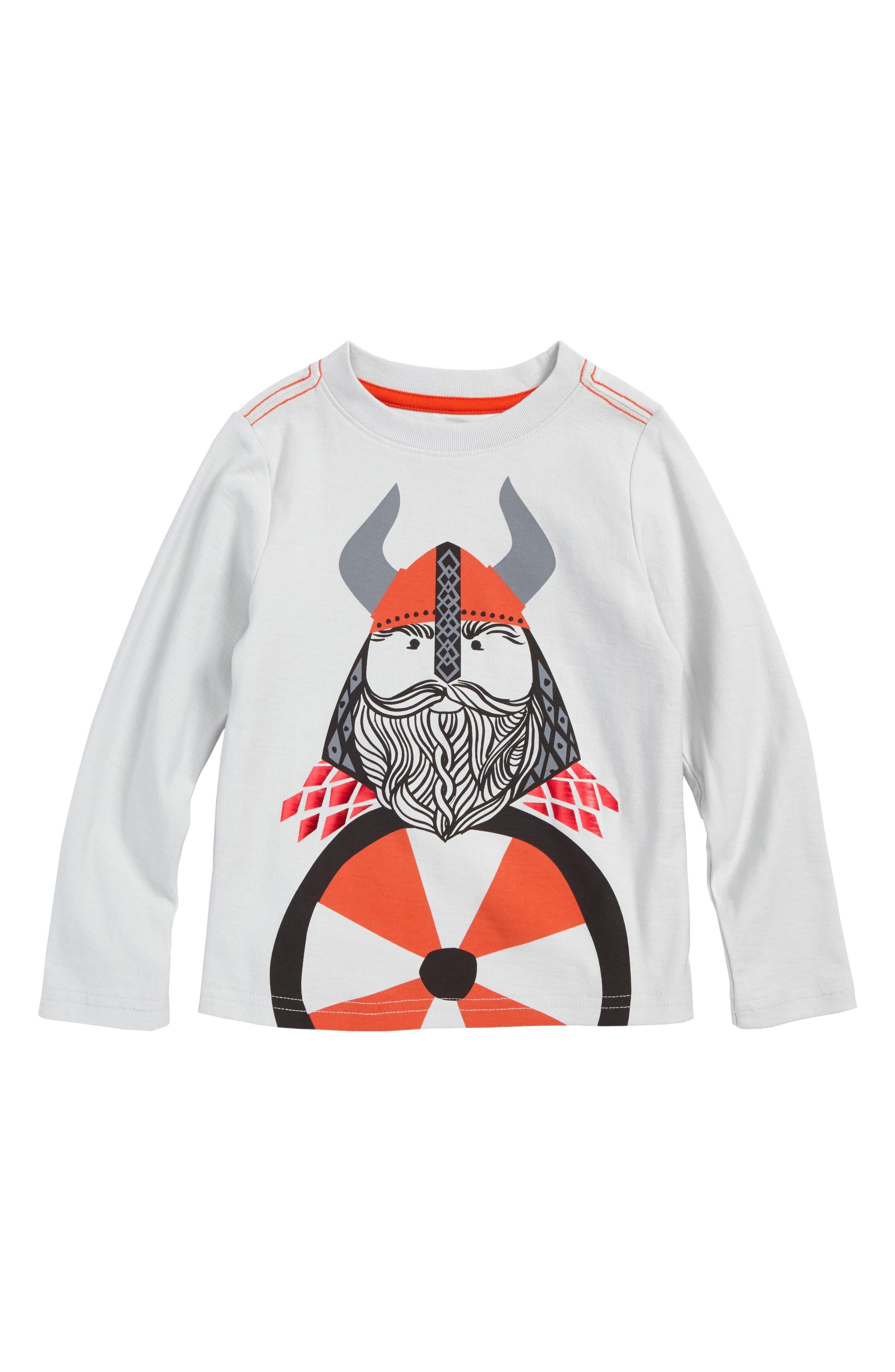 Tea Collection Very Viking T-Shirt (Toddler Boys & Little Boys)
