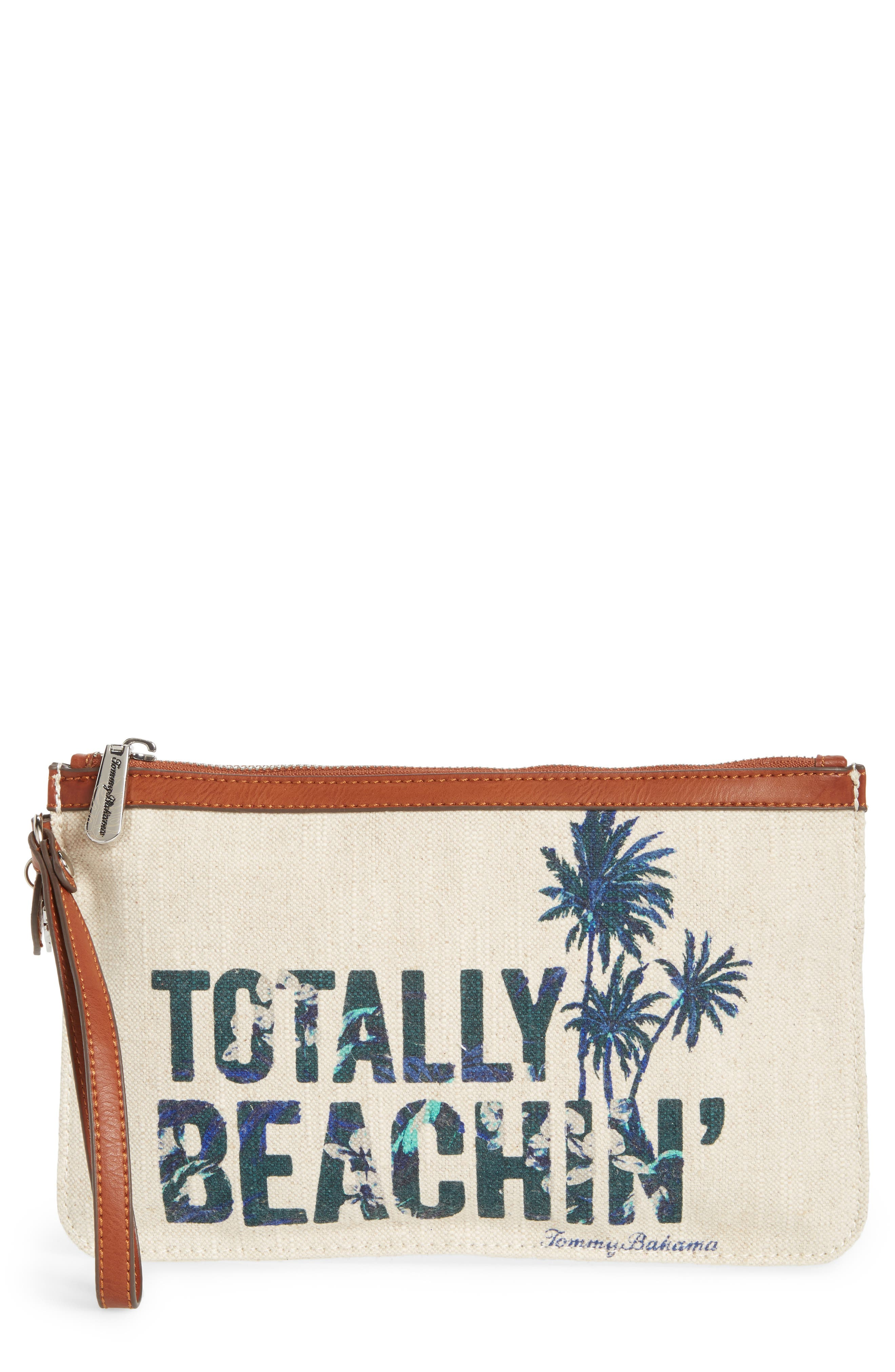 Tommy Bahama Boca Chica Beach Wristlet