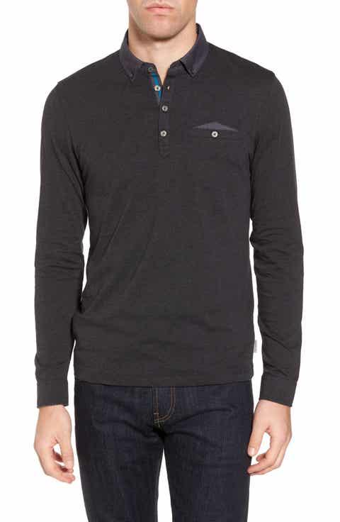 Men's Long Sleeve Polo Shirts: Long & Short Sleeved   Nordstrom