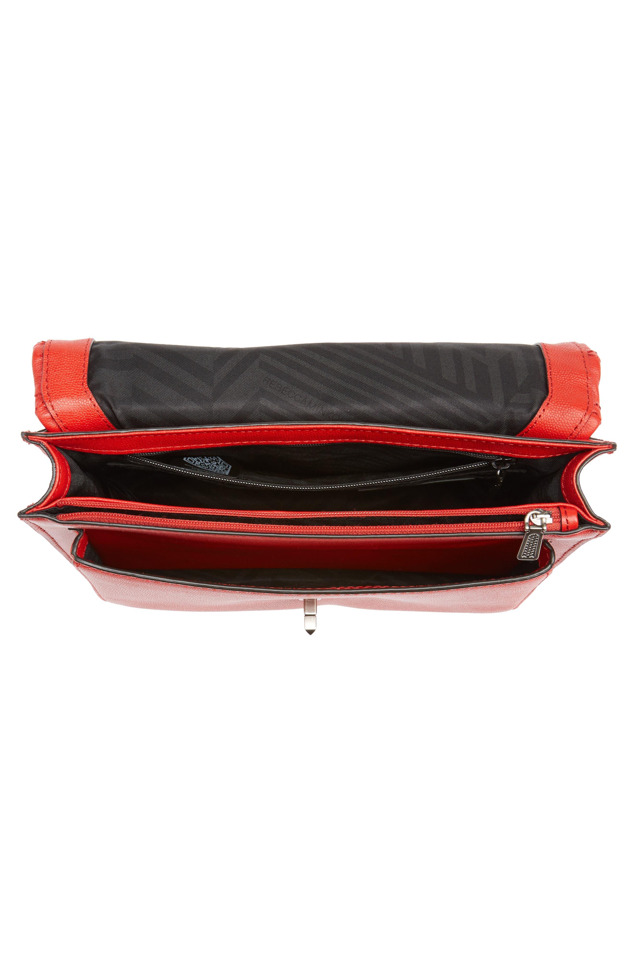 Alternate Image 4  - Rebecca Minkoff Medium Je T'aime Convertible Leather Crossbody Bag