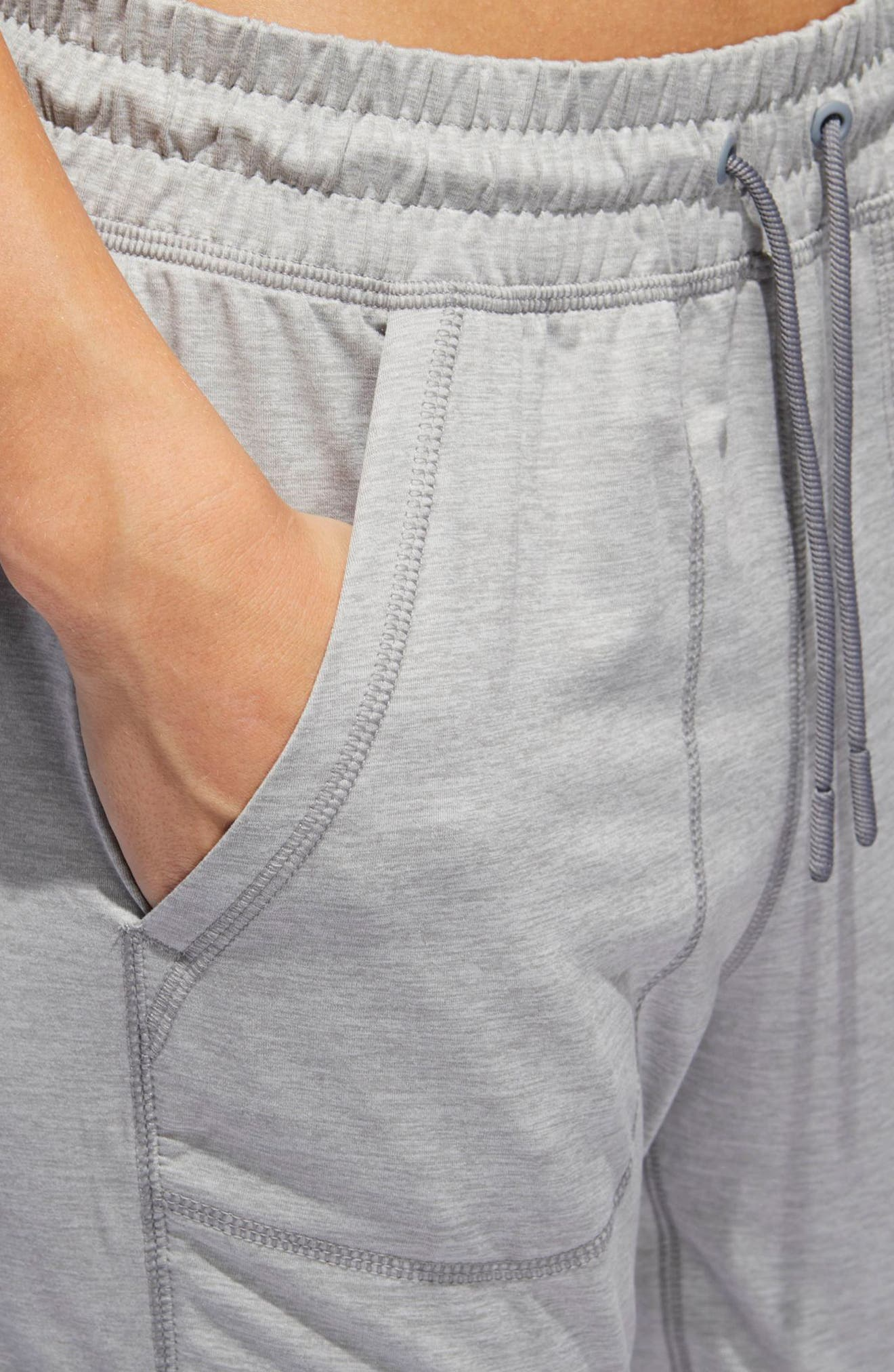 ID LBD Jogger Pants,                             Alternate thumbnail 4, color,                             Medium Grey Heather