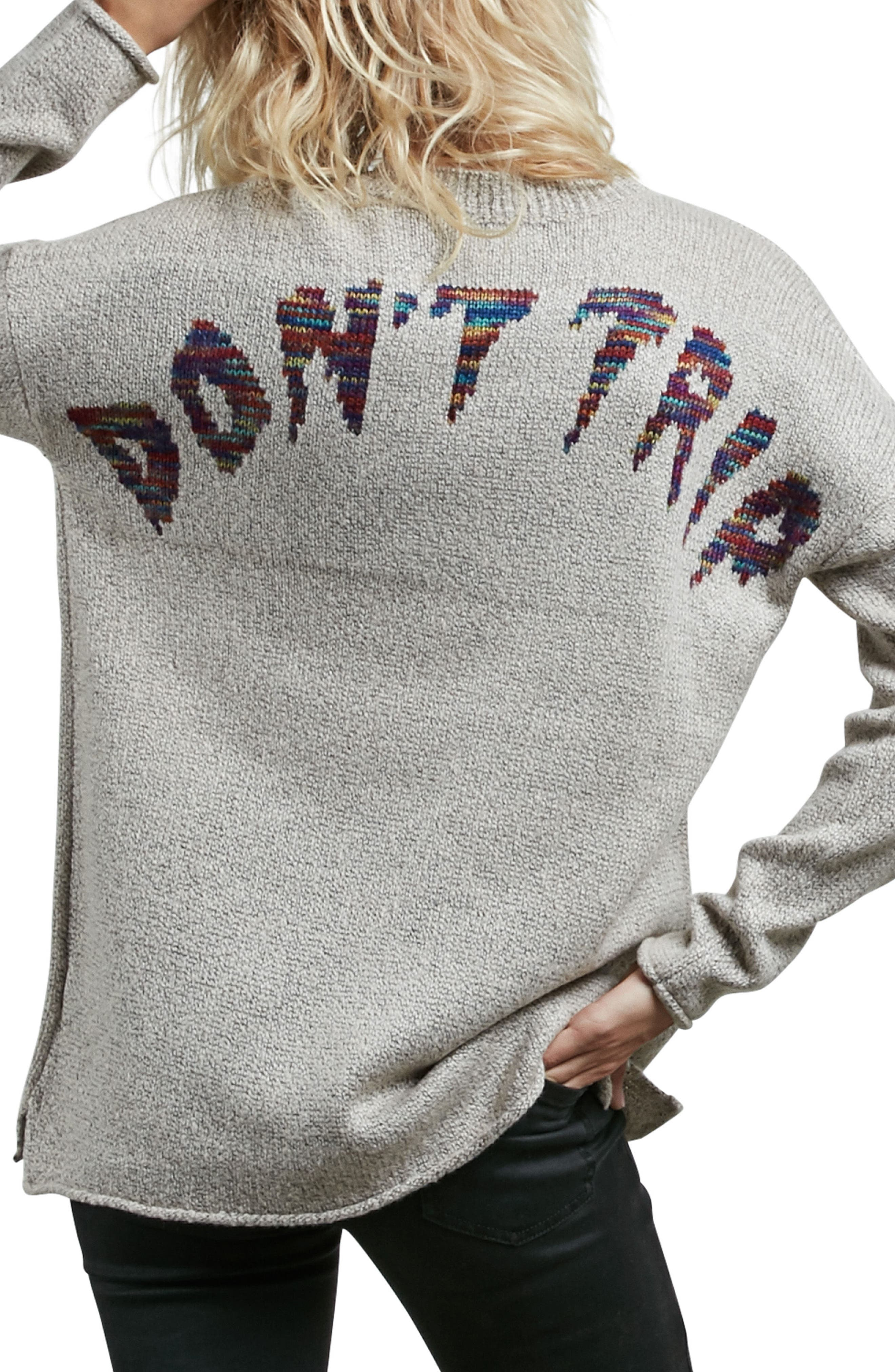 Alternate Image 2  - Volcom Yarn Moji Sweater