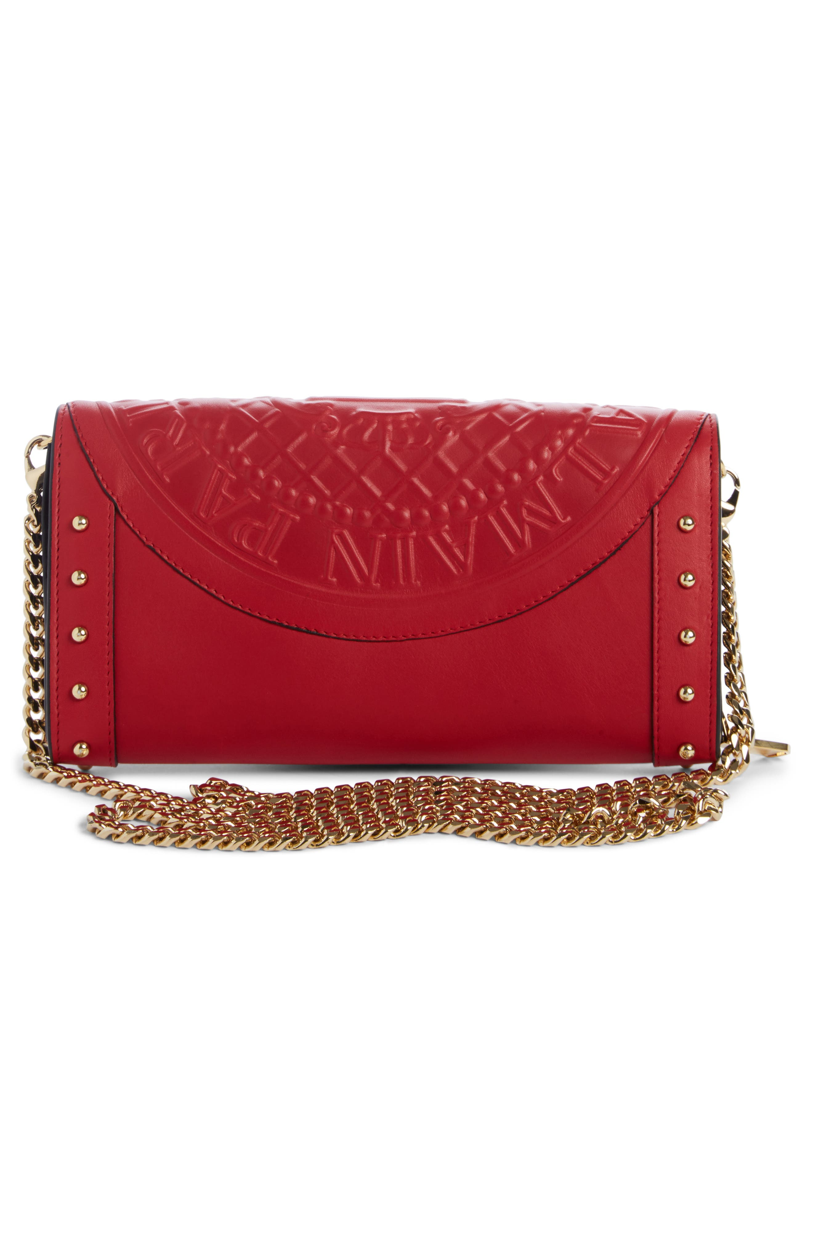Alternate Image 3  - Balmain Renaissance Leather Wallet on a Chain
