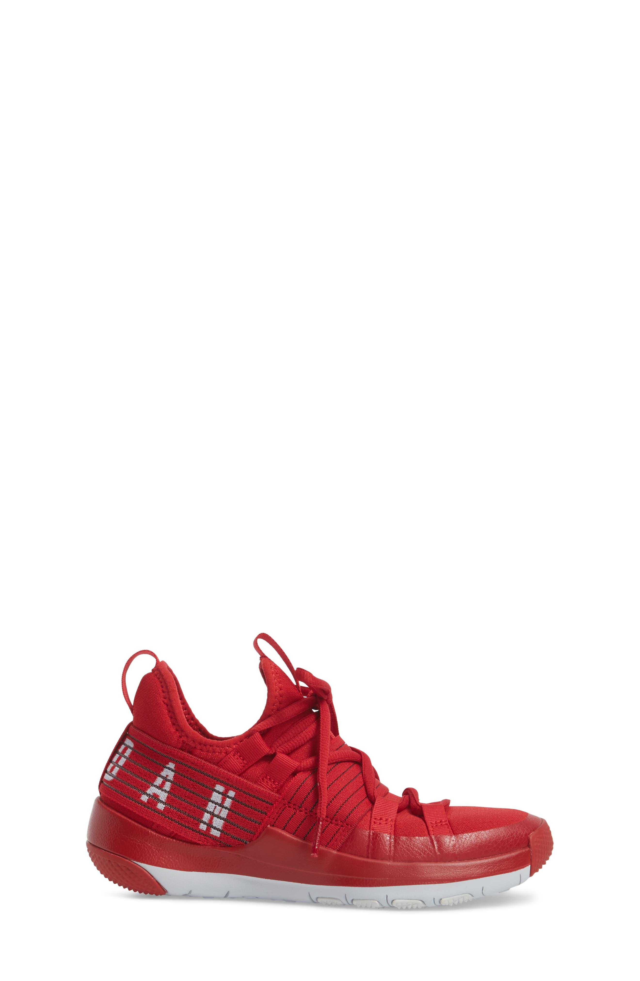 Trainer Pro Training Shoe,                             Alternate thumbnail 3, color,                             Gym Red/ Pure Platinum