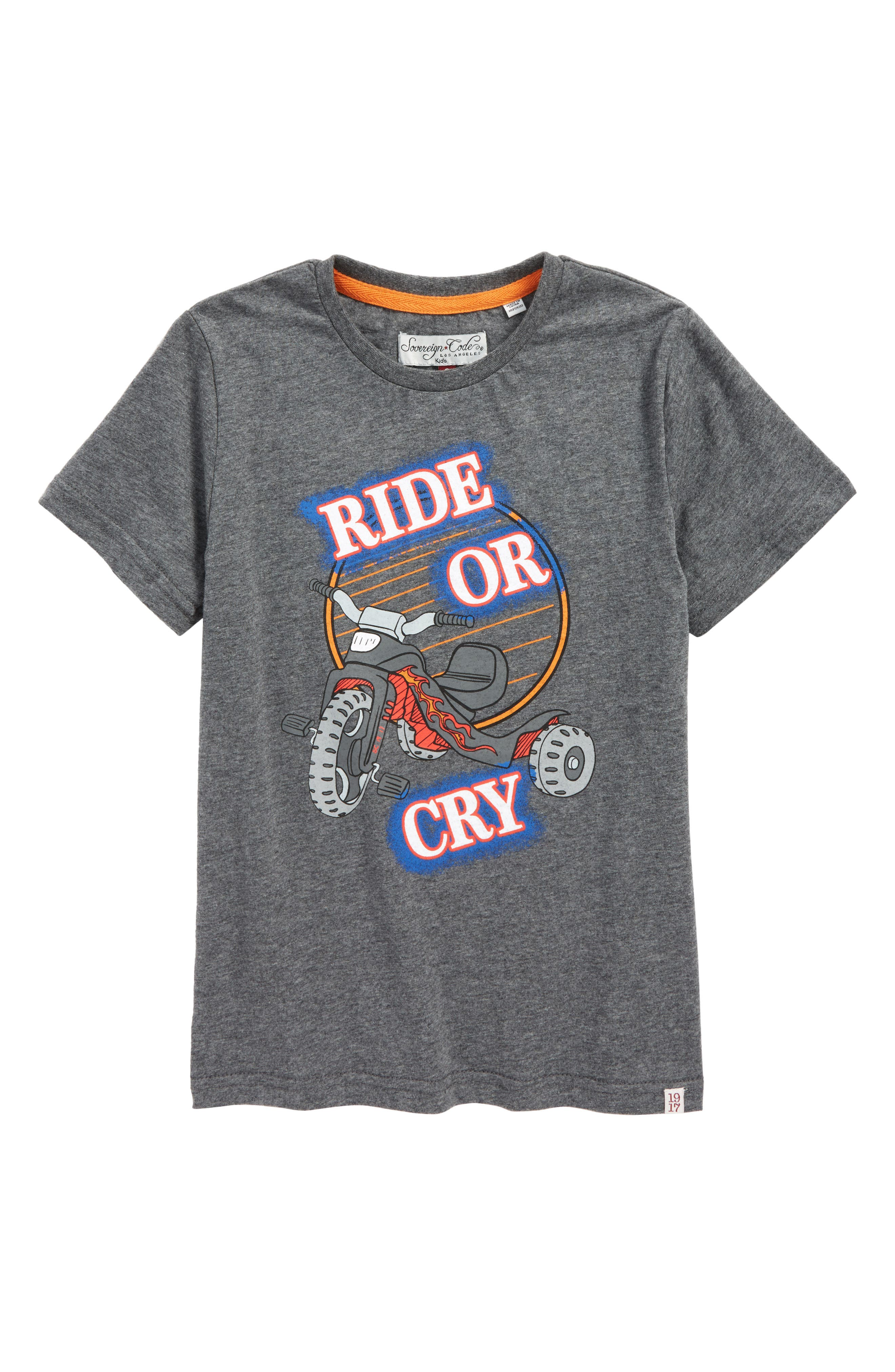 Alternate Image 1 Selected - Sovereign Code Trike T-Shirt (Toddler Boys & Little Boys)