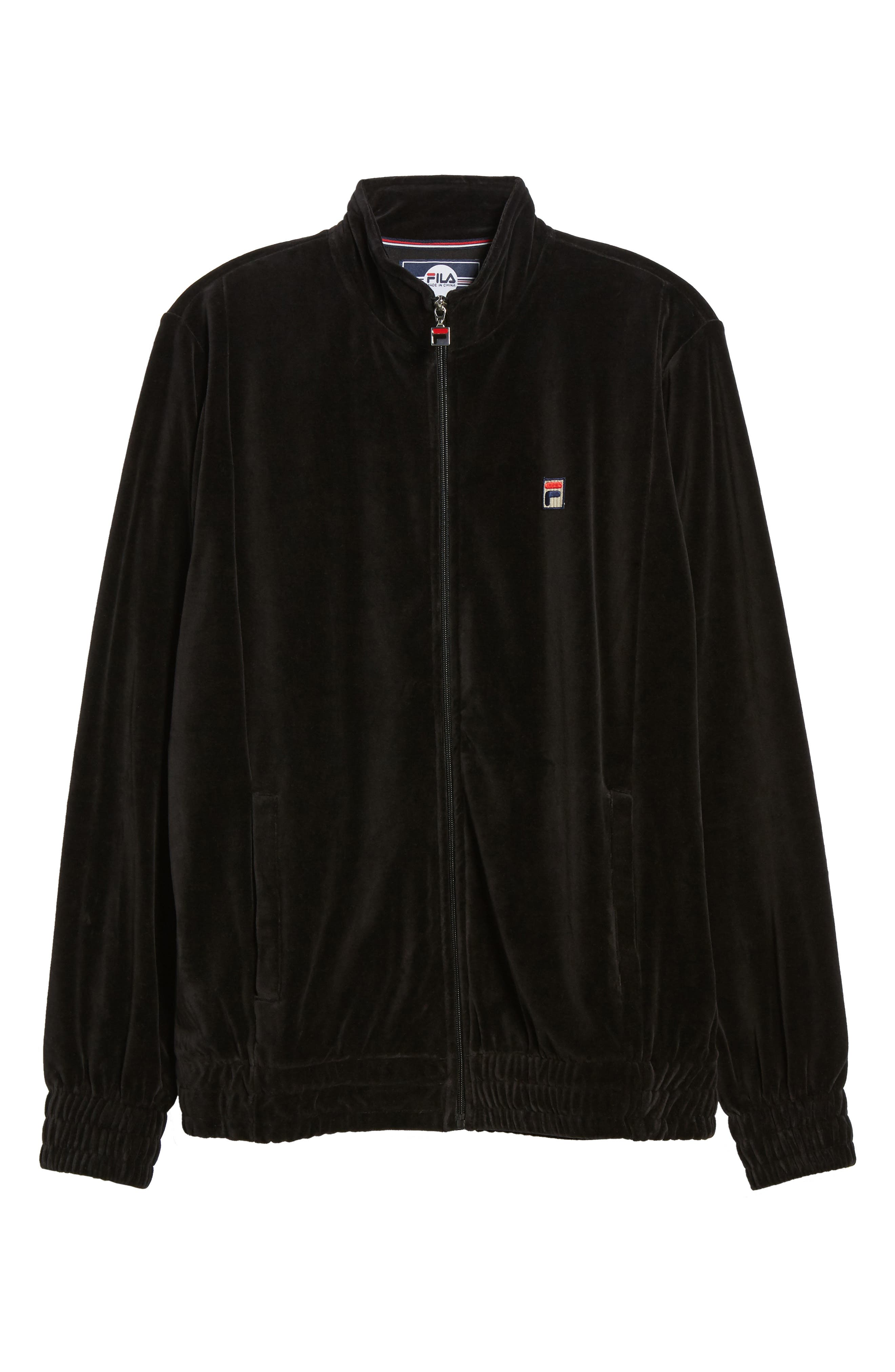 Alternate Image 6  - FILA Velour Jacket