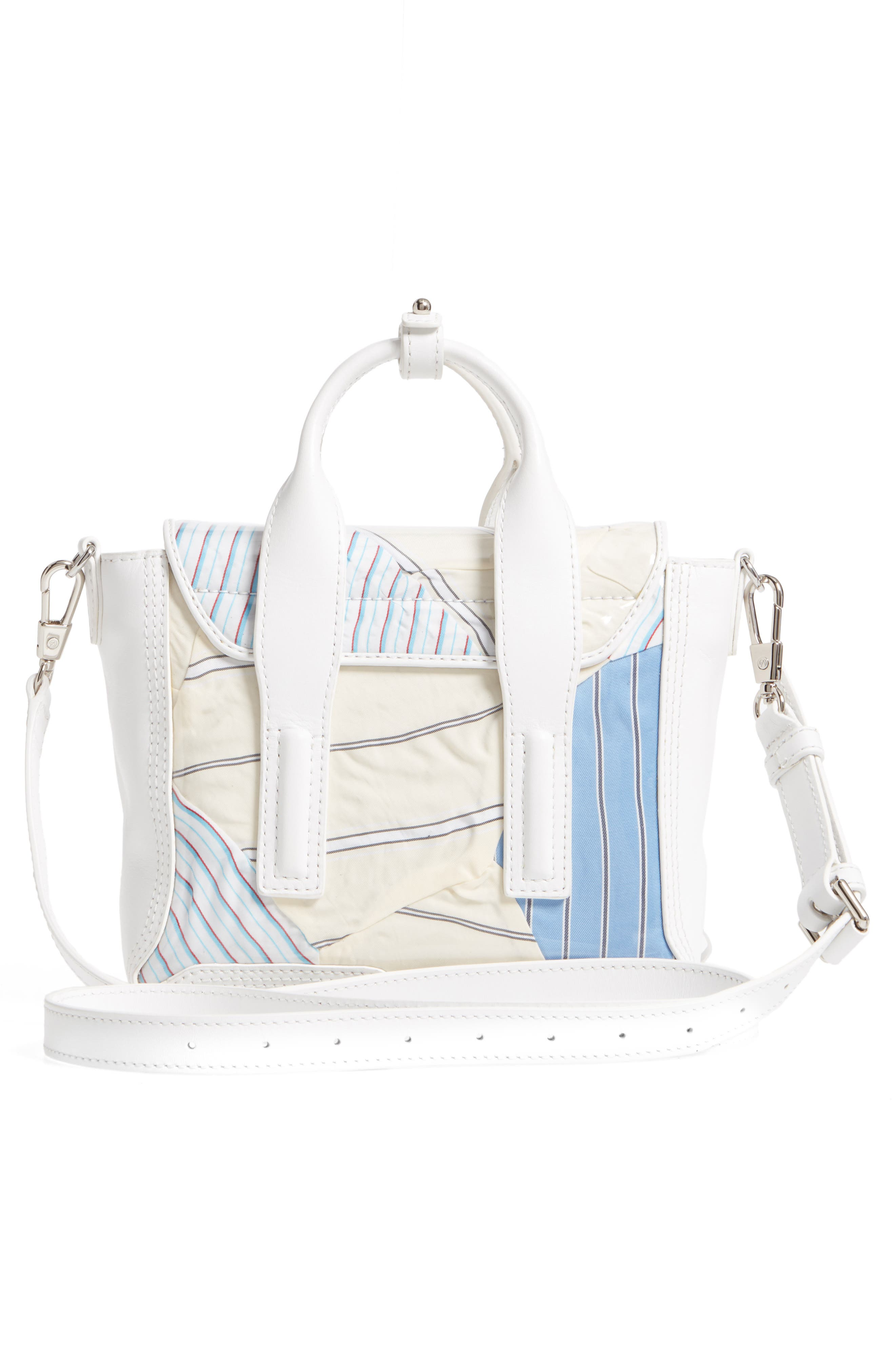 Mini Pashli Satchel,                             Alternate thumbnail 3, color,                             Blue Multi
